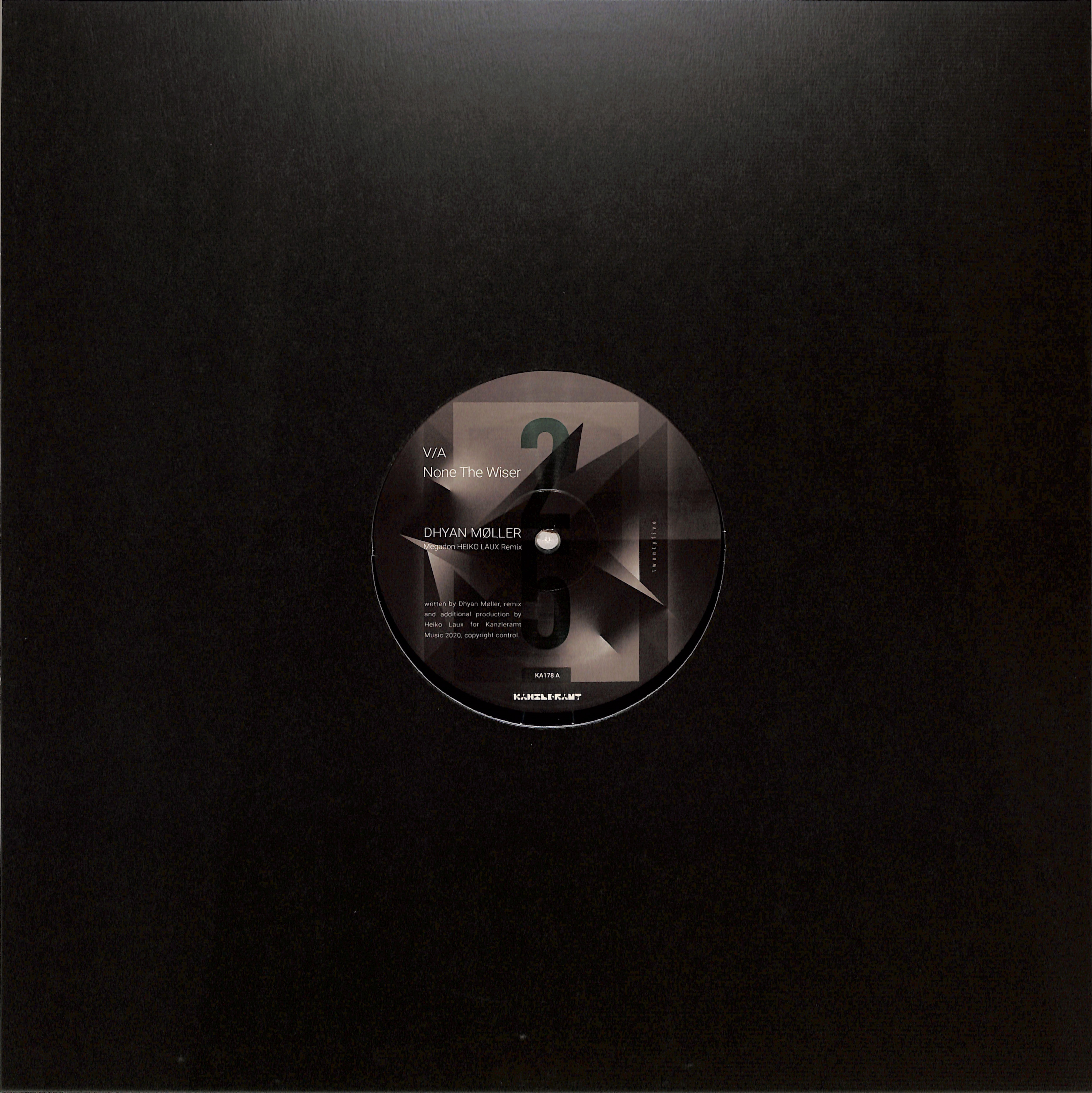 Dhyan Moller / Joel Mull / Heiko Laux / Ray Kajioka - NONE THE WISER