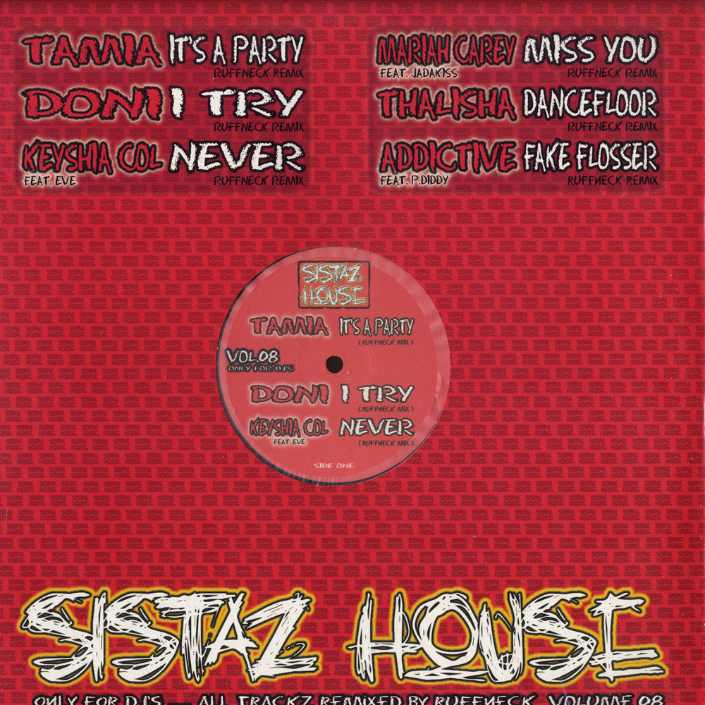 Various Artists - SISTAZ HOUSE VOL 8