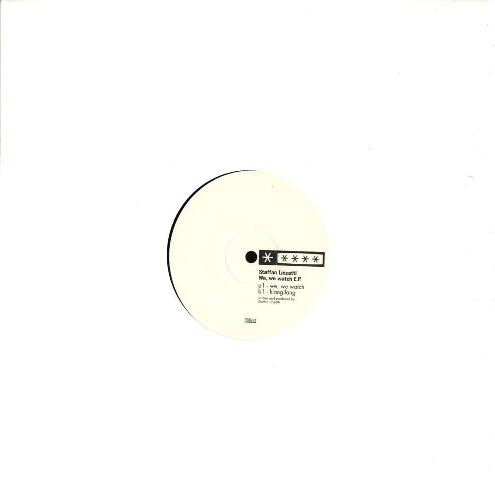 Steffan Linzatti - WE, WE WATCH EP