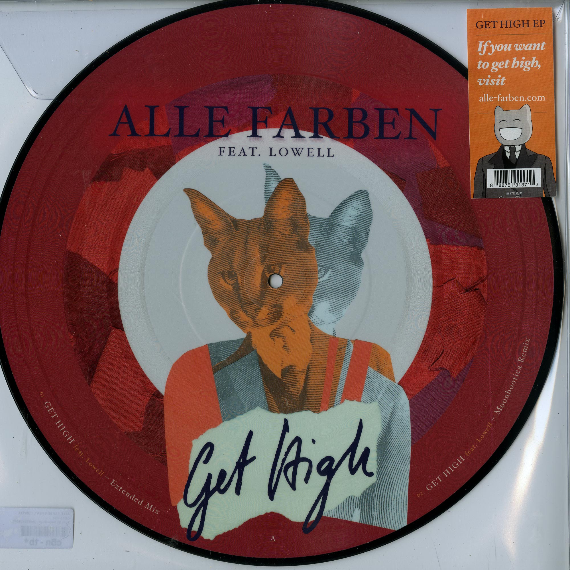 Alle Farben feat. Lowell - GET HIGH EP