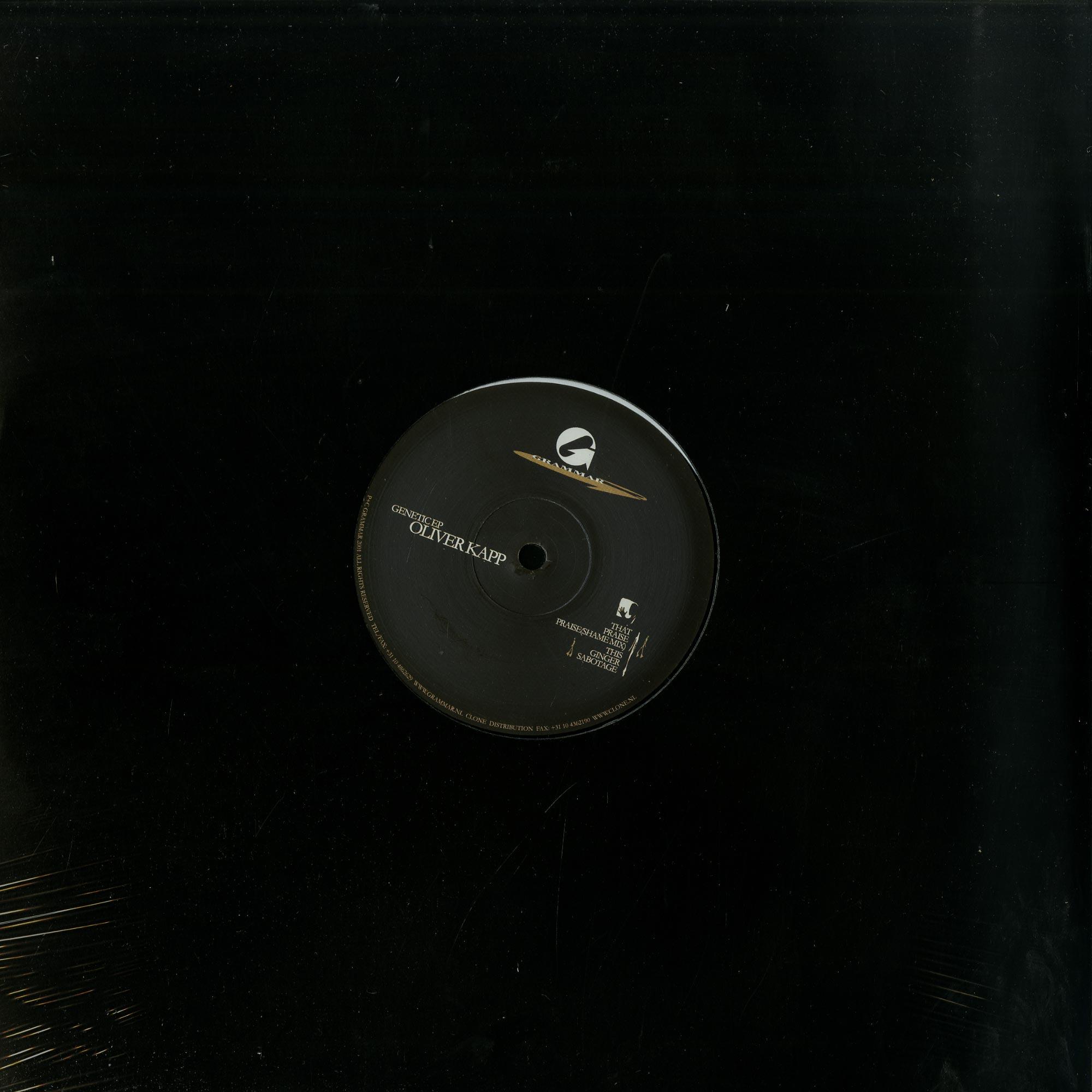Oliver Kapp - GENETIC EP