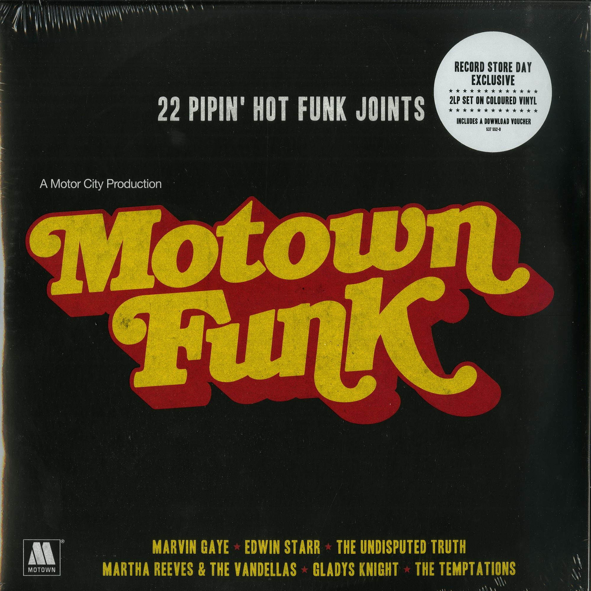 Various Artists - MOTOWN FUNK