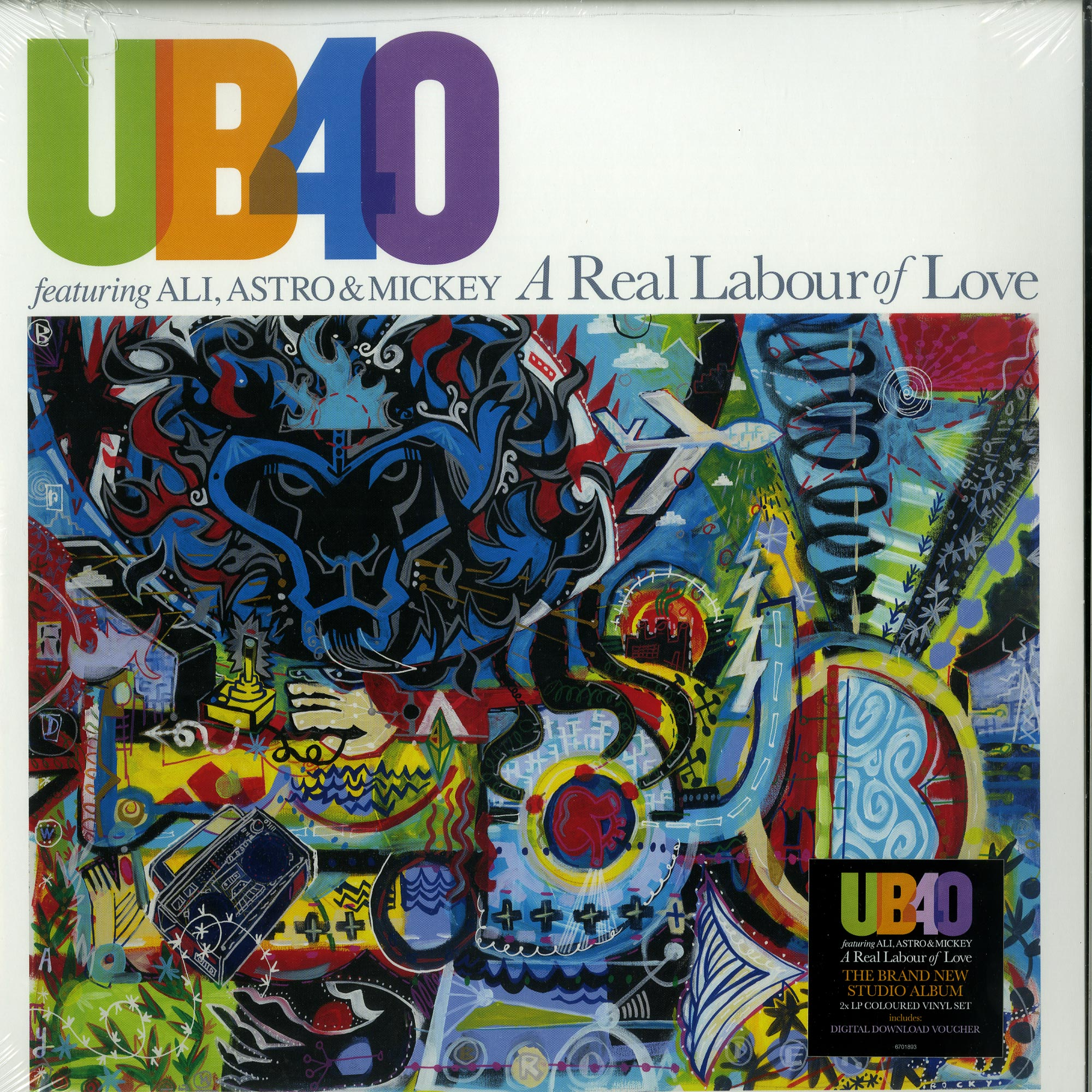 UB40 ft  Ali, Astro & Mickey - A REAL LABOUR OF LOVE