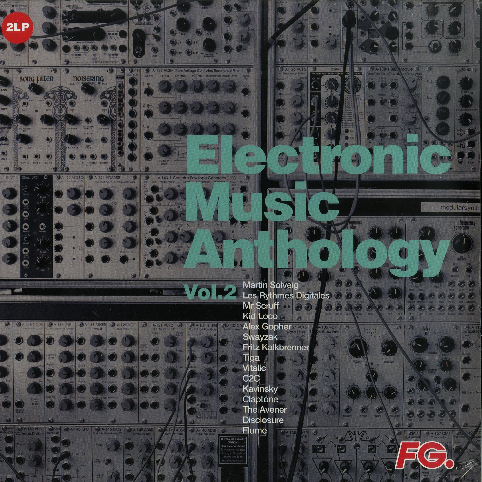 Various Artists - ELECTRONIC MUSIC ANTHOLOGY 02