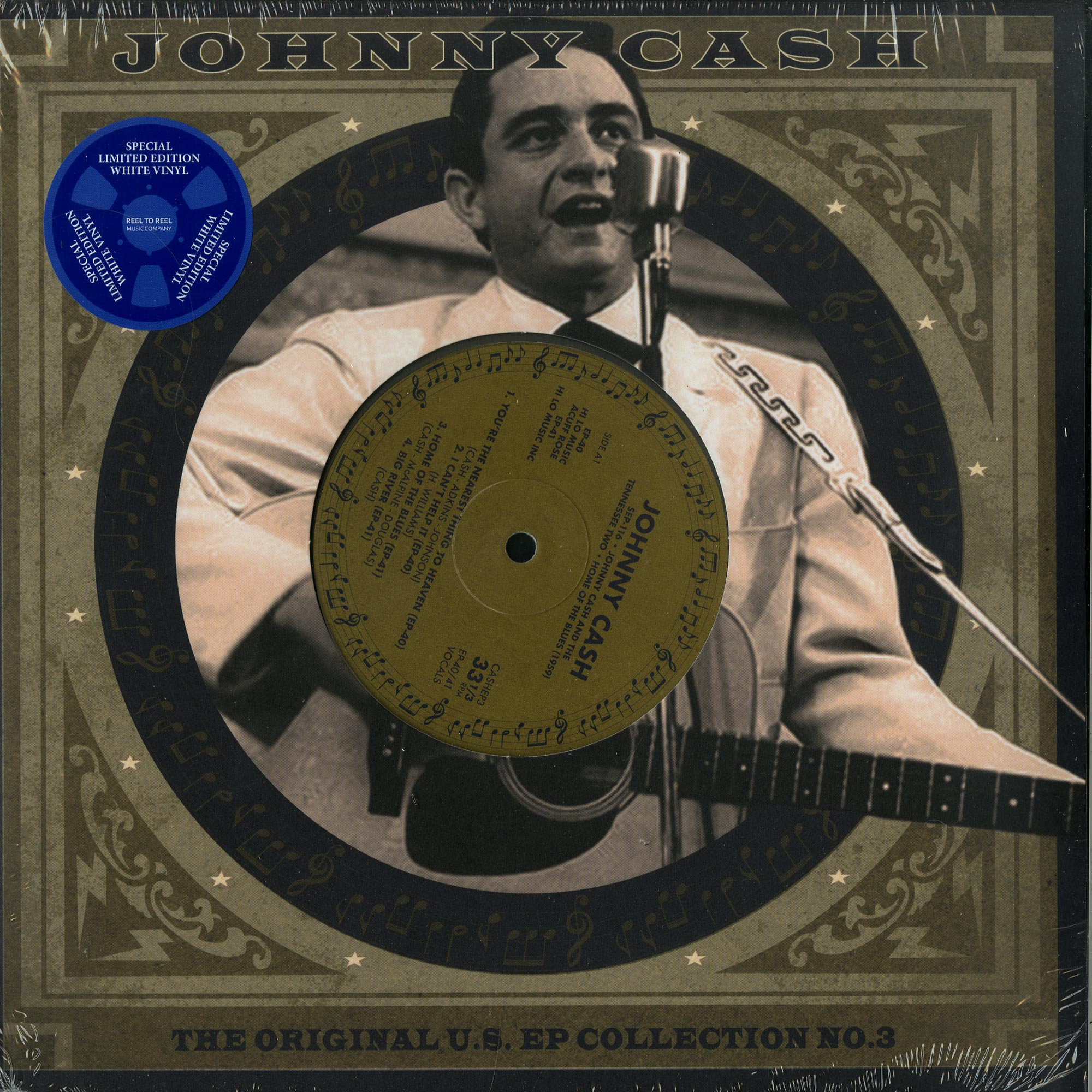 Johnny Cash - THE ORIGINAL U.S. EP COLLECTION VOL. 3
