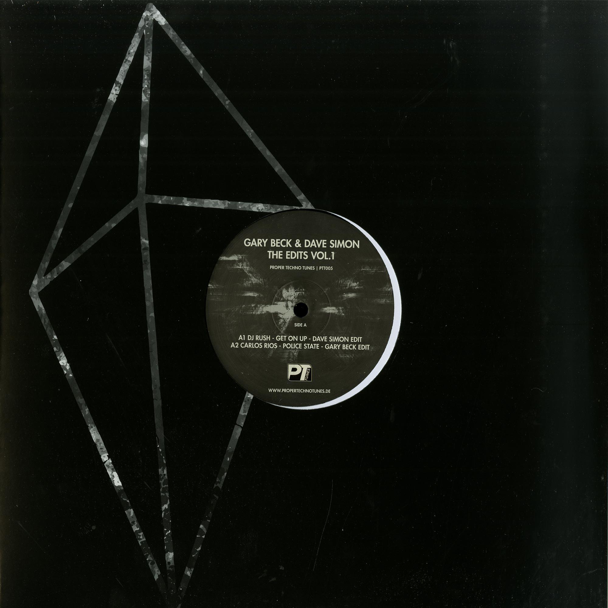 Gary Beck & Dave Simon - THE EDITS VOL. 1