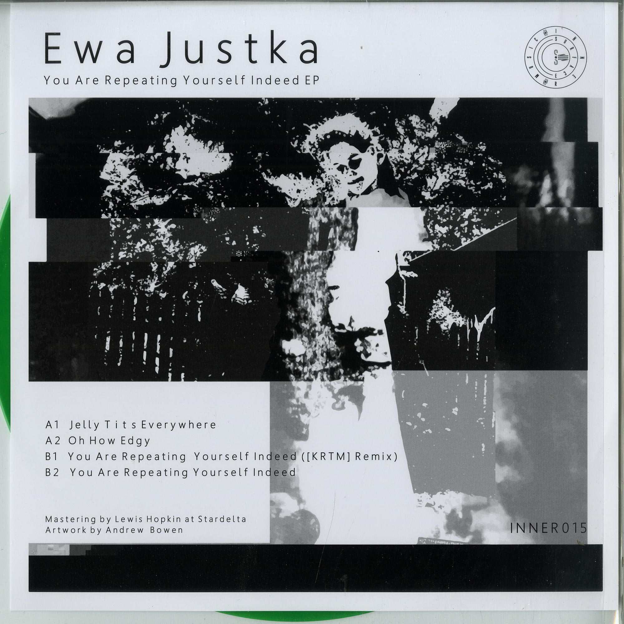 Ewa Justka - YOU ARE REPEATING YOURSELF INDEED EP