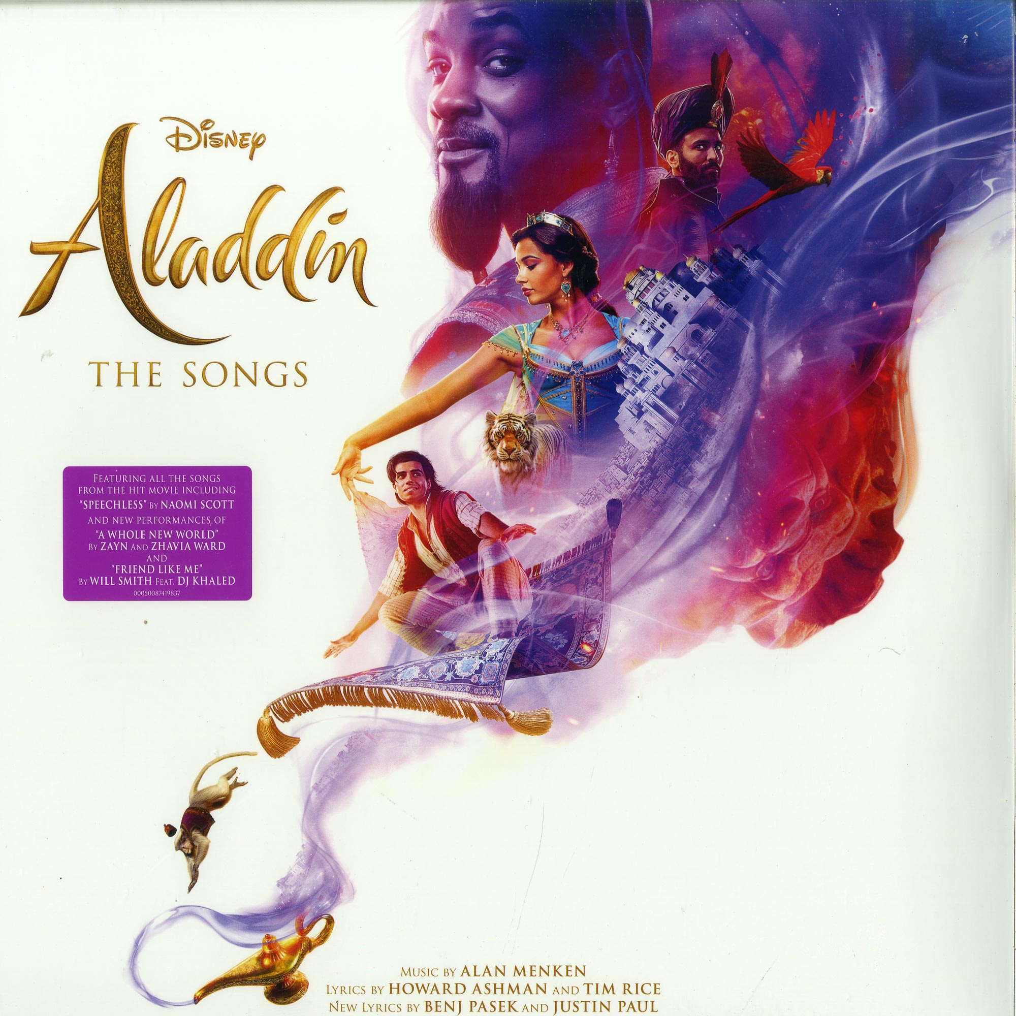 Various Artist - ALADDIN: THE SONGS  - O.S.T.