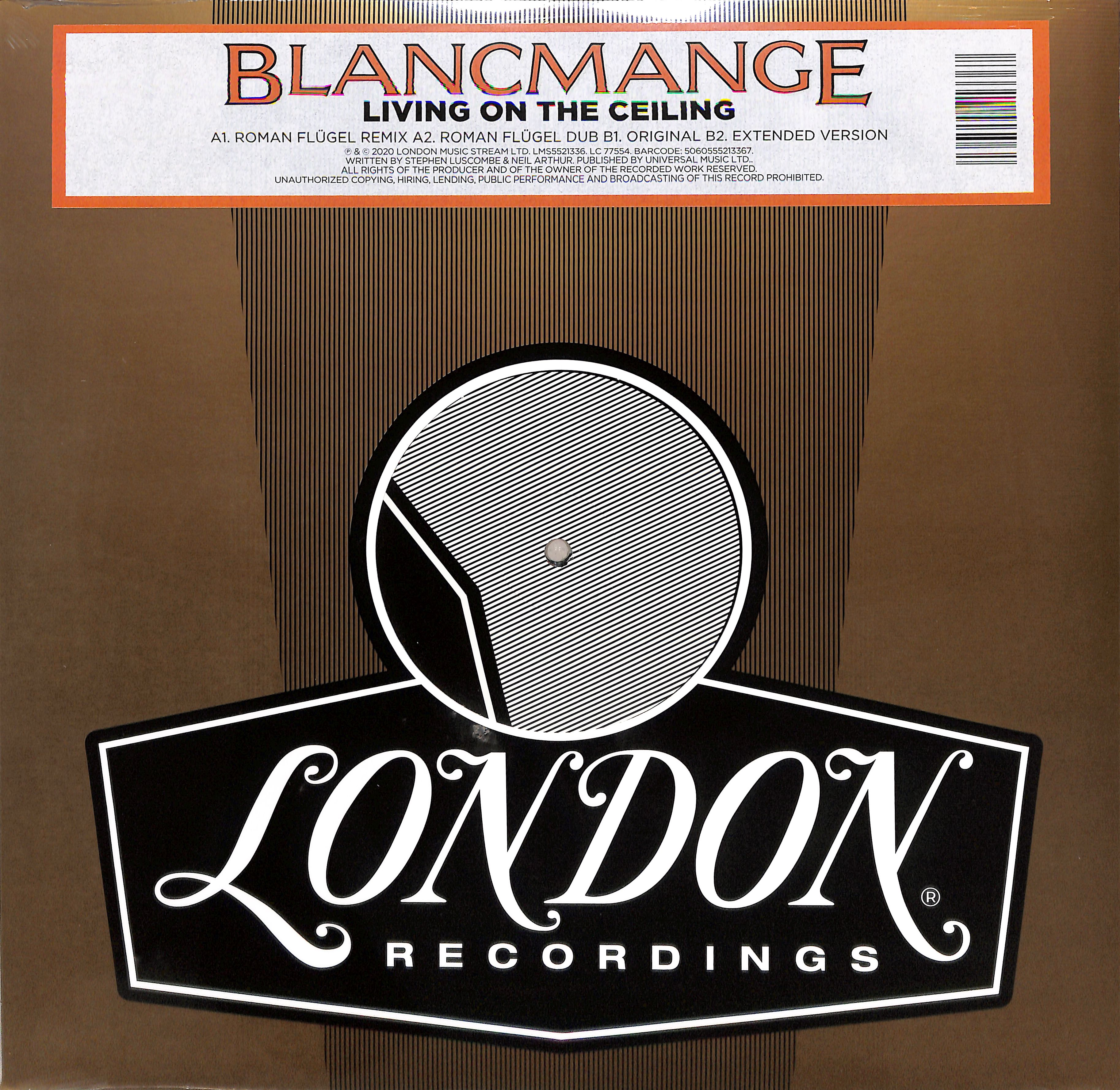 Blancmange - LIVING ON THE CEILING