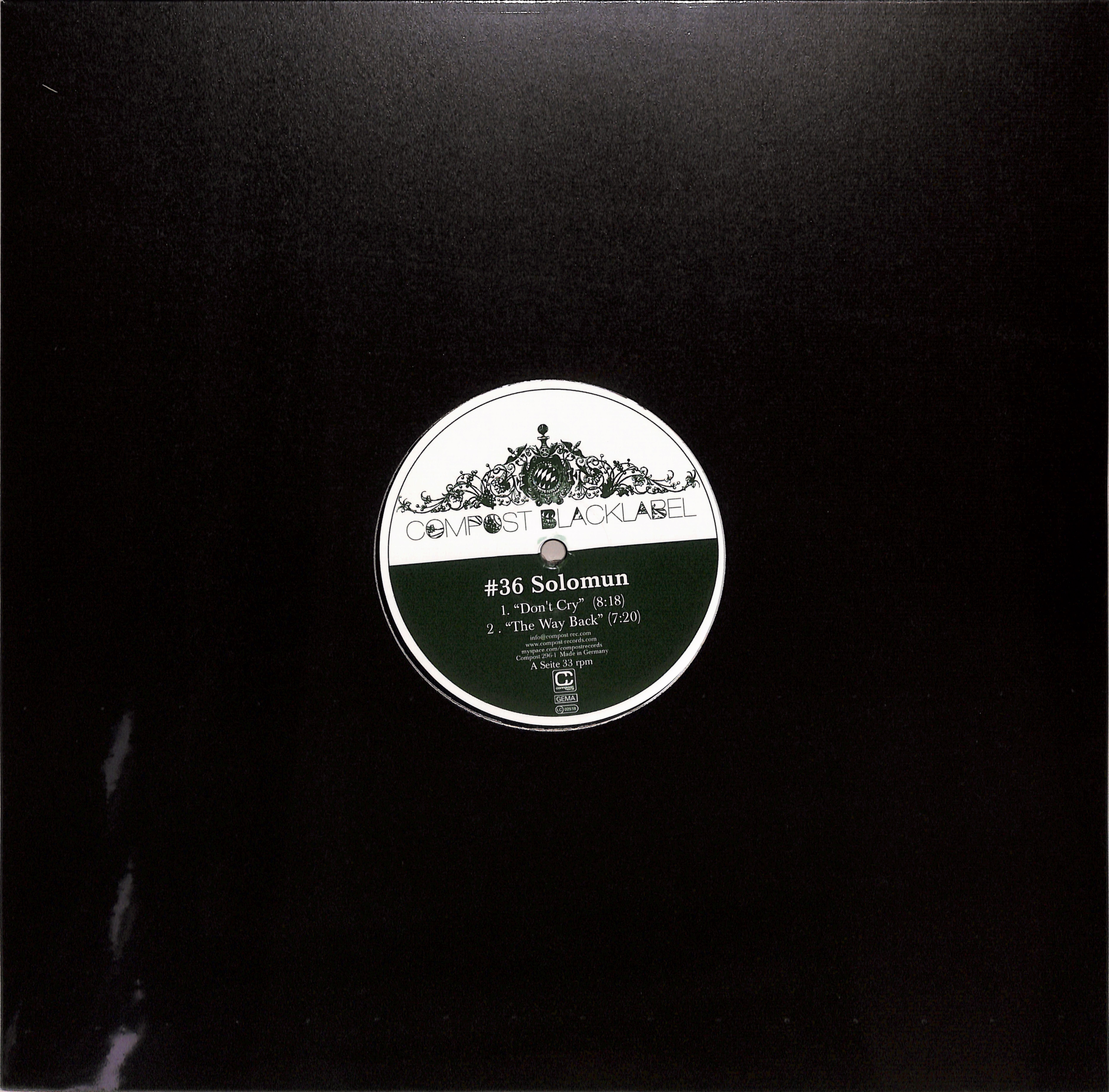 Solomun - COMPOST BLACK LABEL 36
