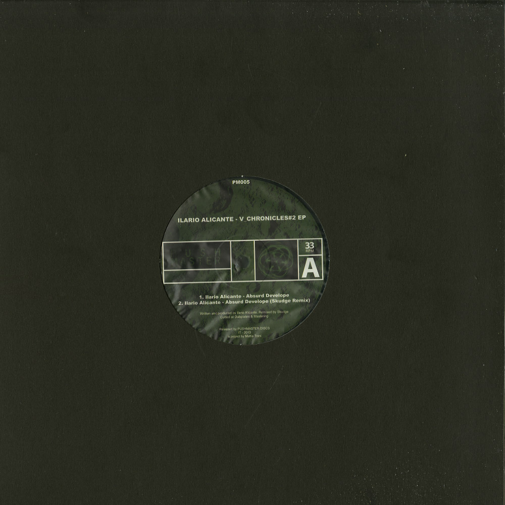 Ilario Alicante - V_CHRONICLES 2 EP