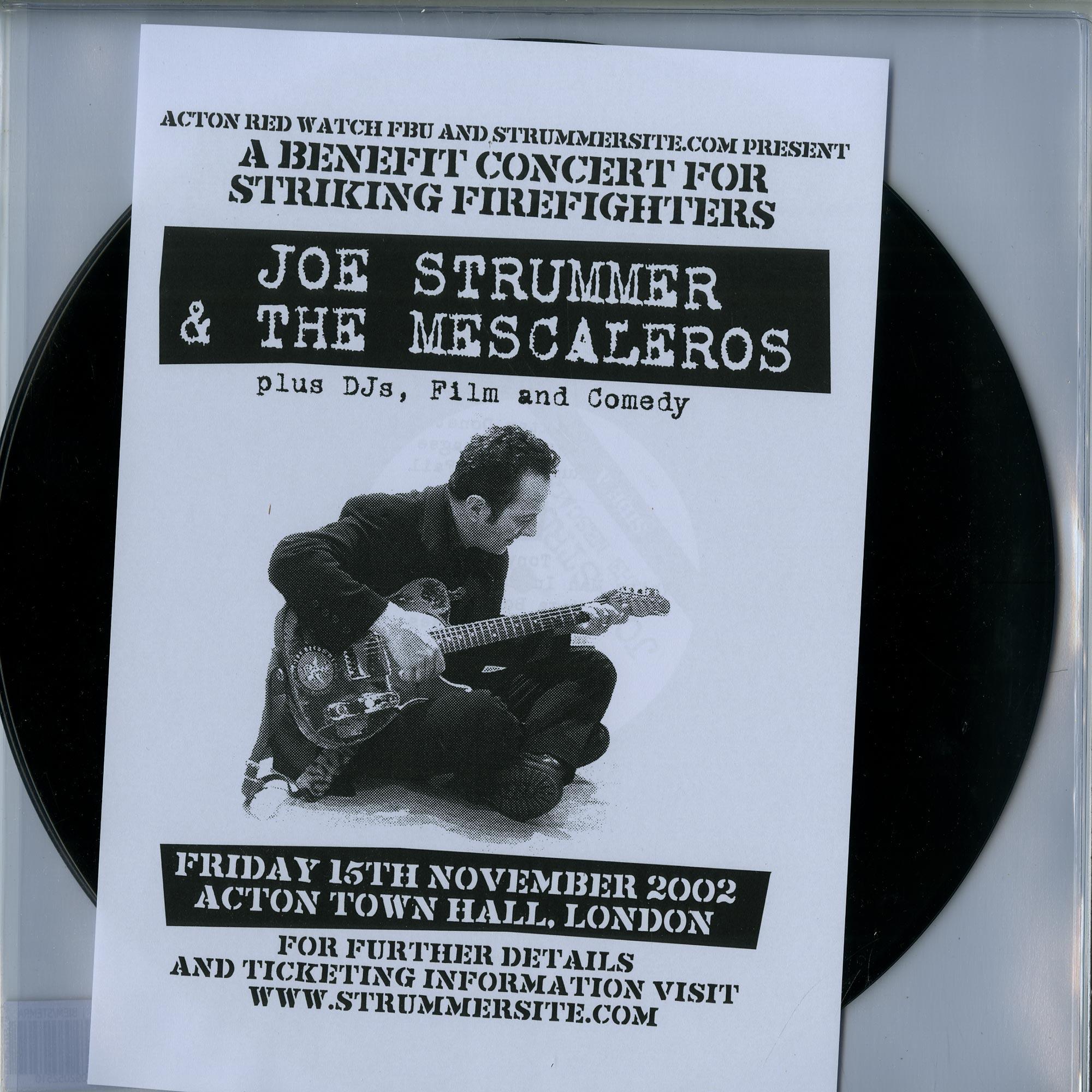 Joe Strummer & The Mescaleros - LIVE AT ACTON TOWN HALL, LONDON 2002