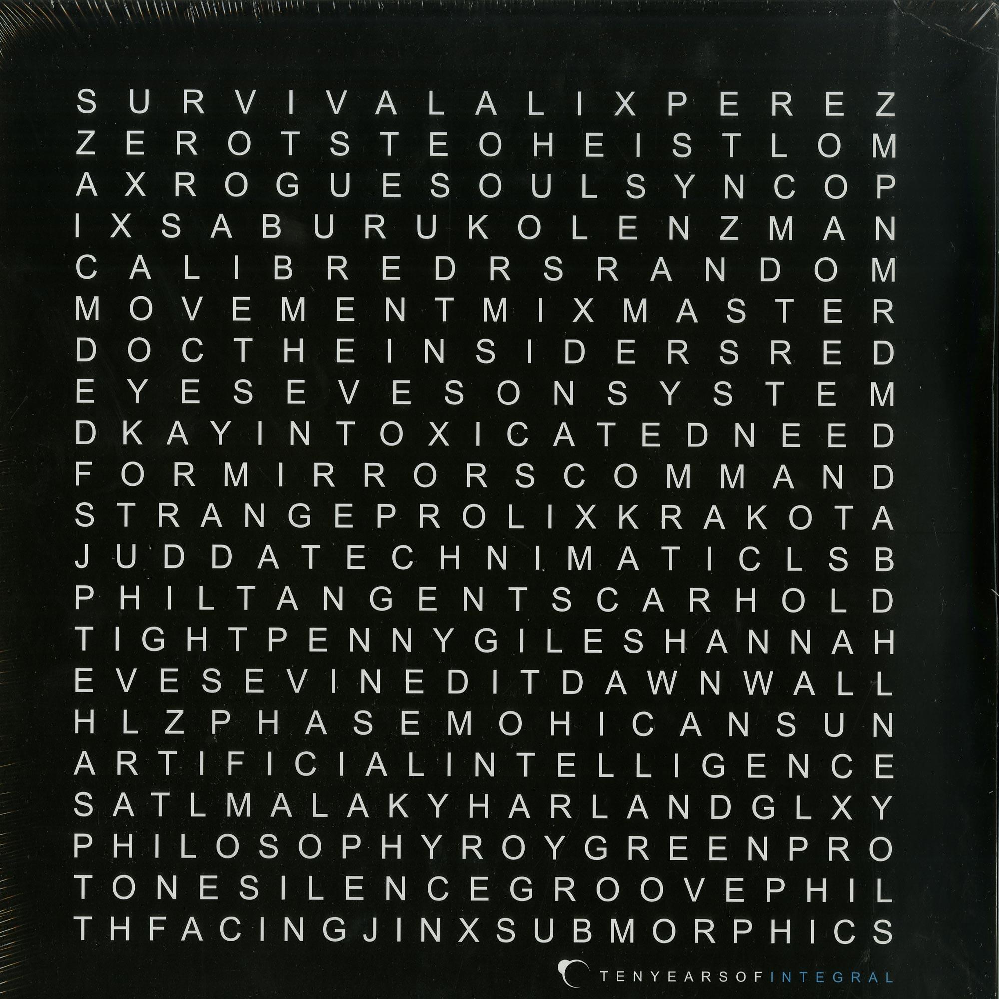 Various Artists - TEN YEARS OF INTEGRAL ALBUM