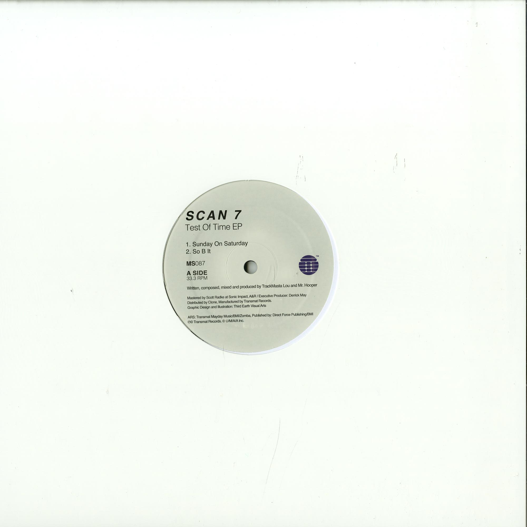 Scan 7 - TEST OF TIME EP