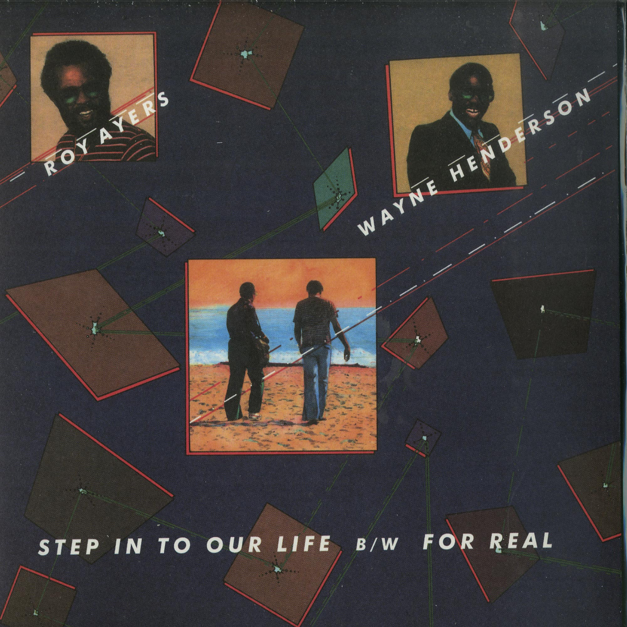 Roy Ayers - STEP IN TO OUR LIFE / FOR REAL