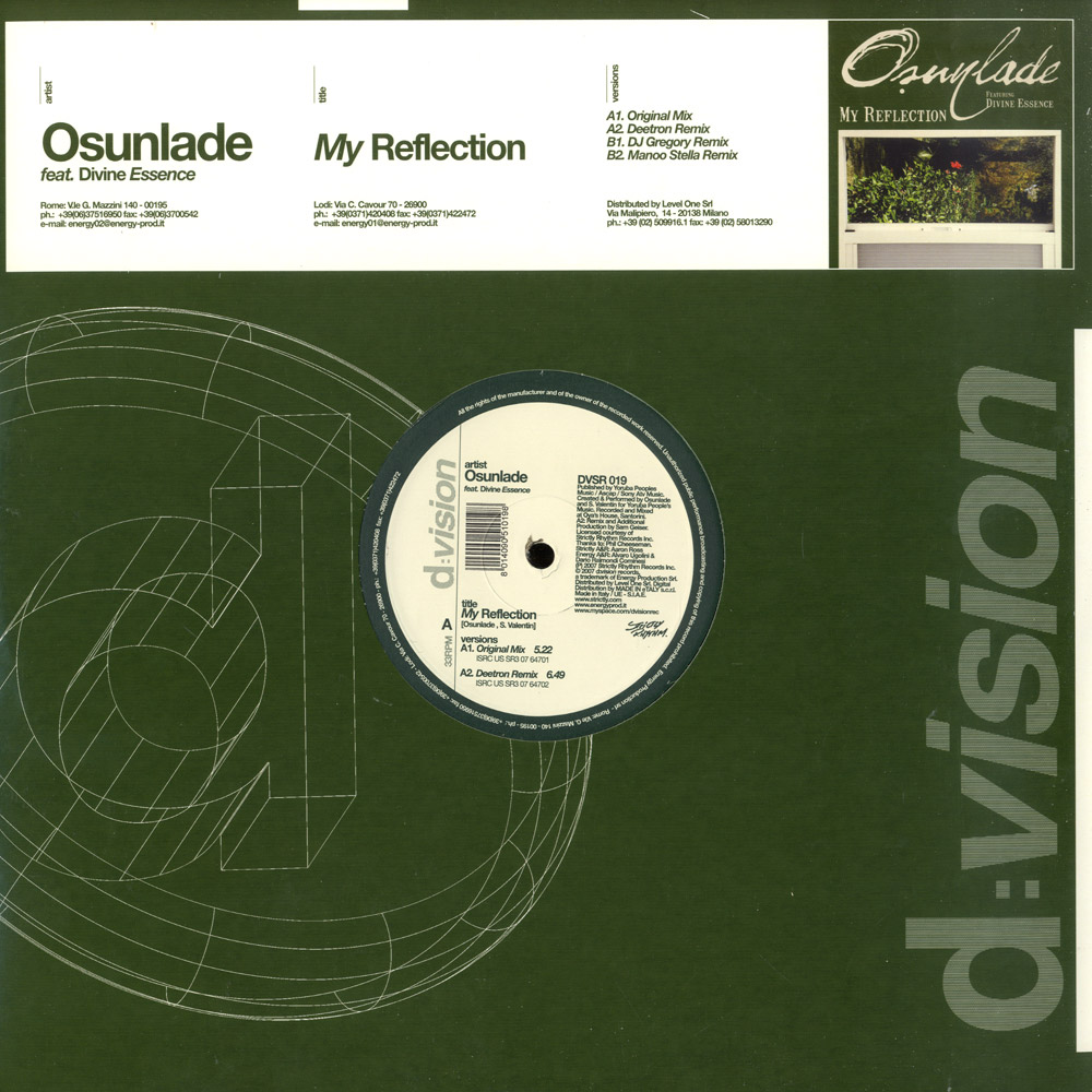 Osunlade Feat. Divine Essence - MY REFLECTION