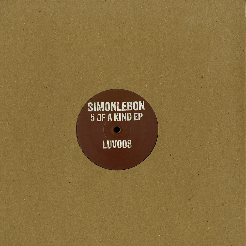Simonlebon - 5 OF A KIND EP