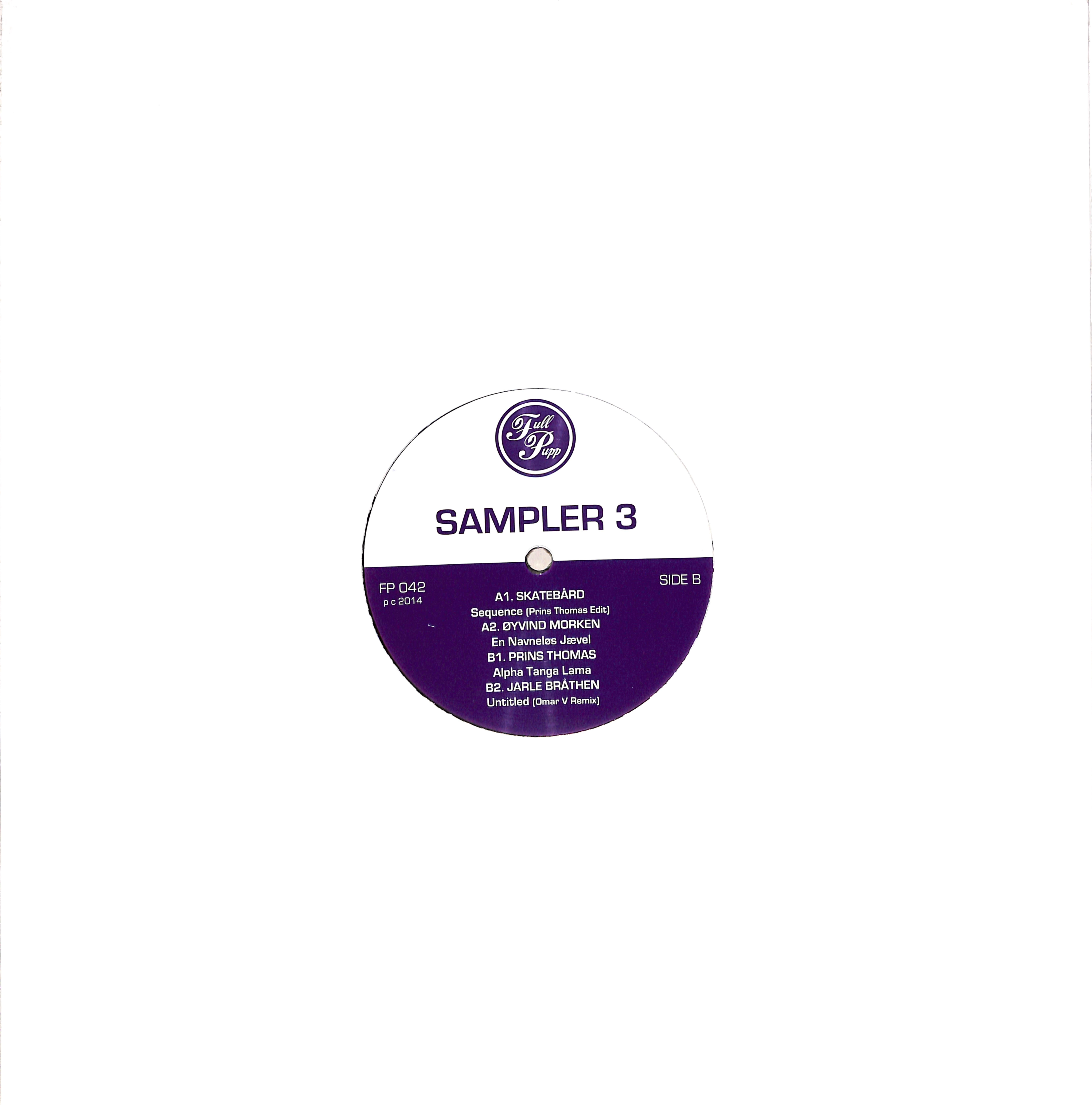 Various Artists - FULL PUPP SAMPLER 3