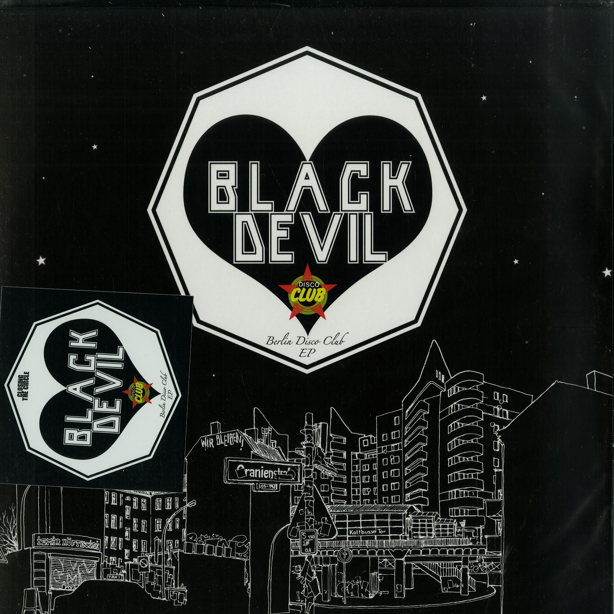 Black Devil, Bernard Fevre, Benedikt Frey - BERLIN DISCO CLUB EP