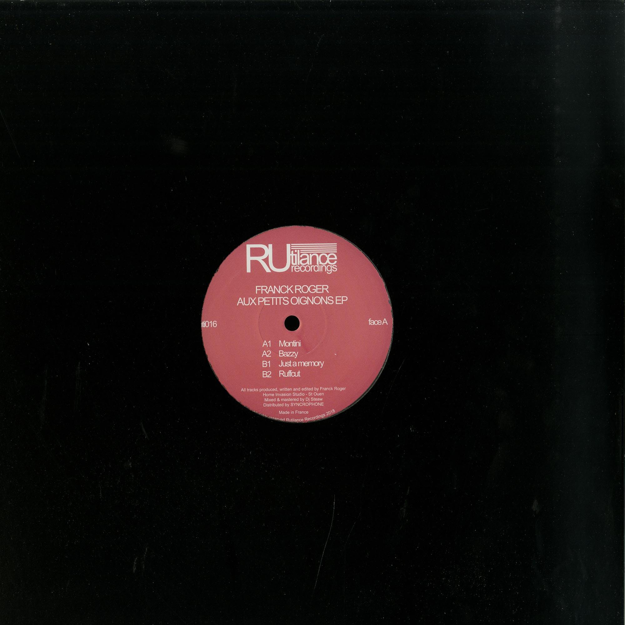 Franck Roger - AUX PETITS OIGNONS EP