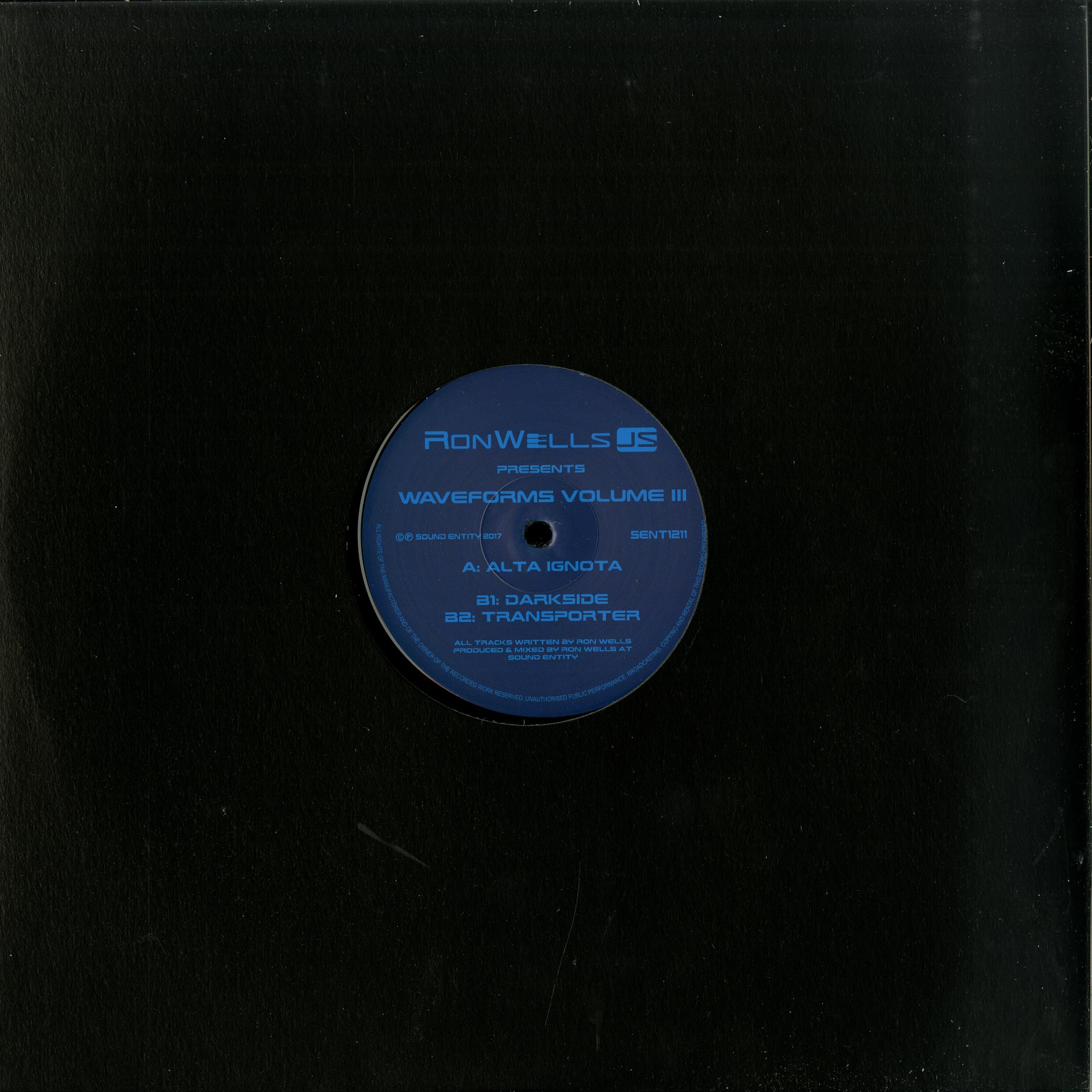 Ron Wells - WAVEFORMS VOL. III