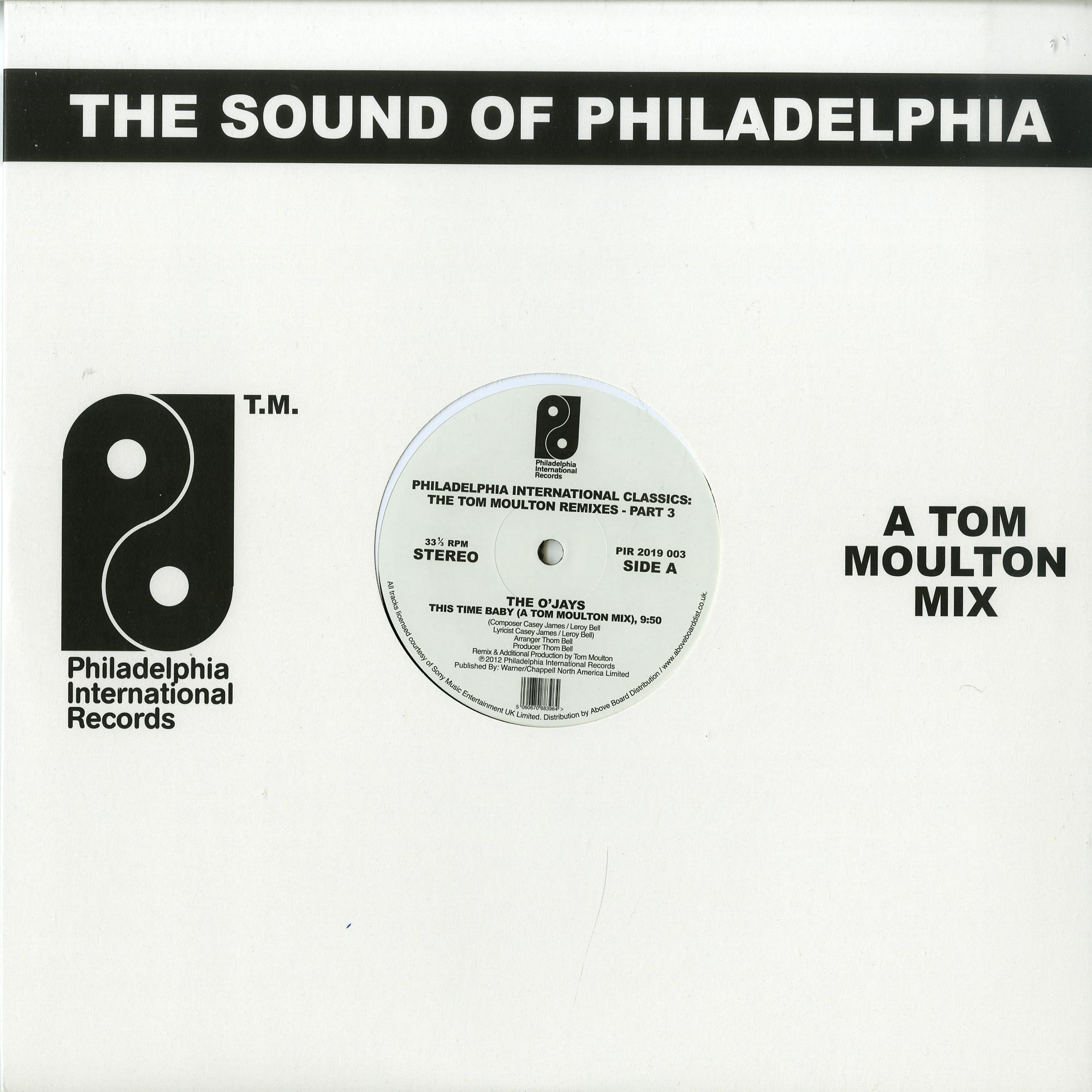 Various Artists - PHILADELPHIA INTERNATIONAL CLASSICS - THE TOM MOULTON REMIXES - PART 3