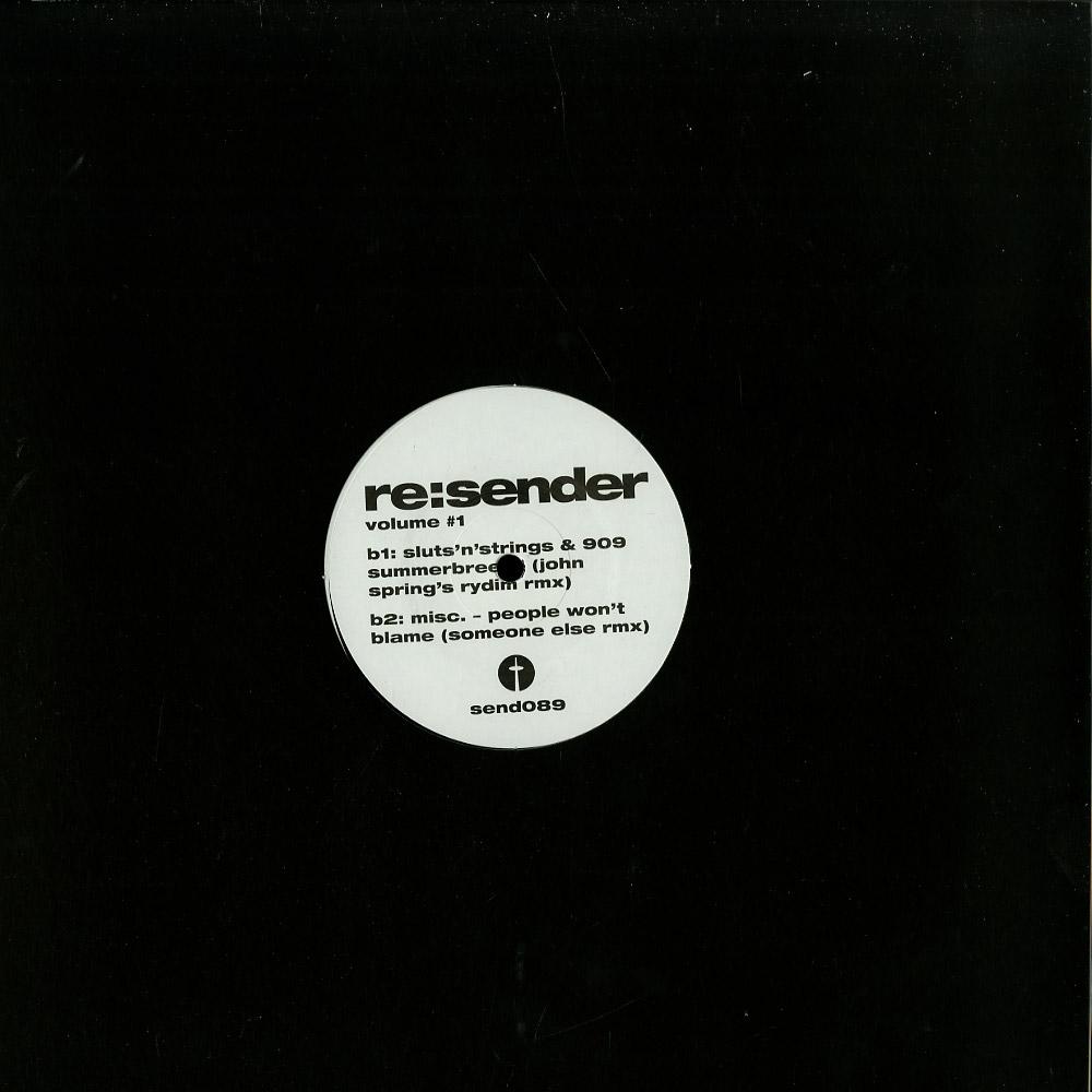 Various Artists - RE:SENDER VOLUME 1