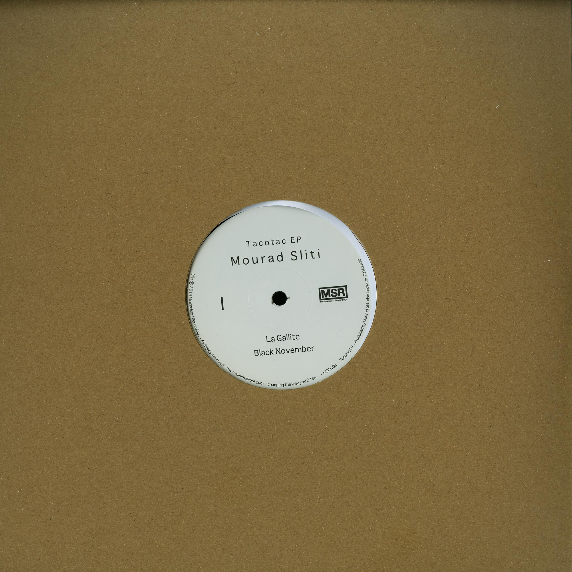 Mourad Sliti - TACOTAC EP