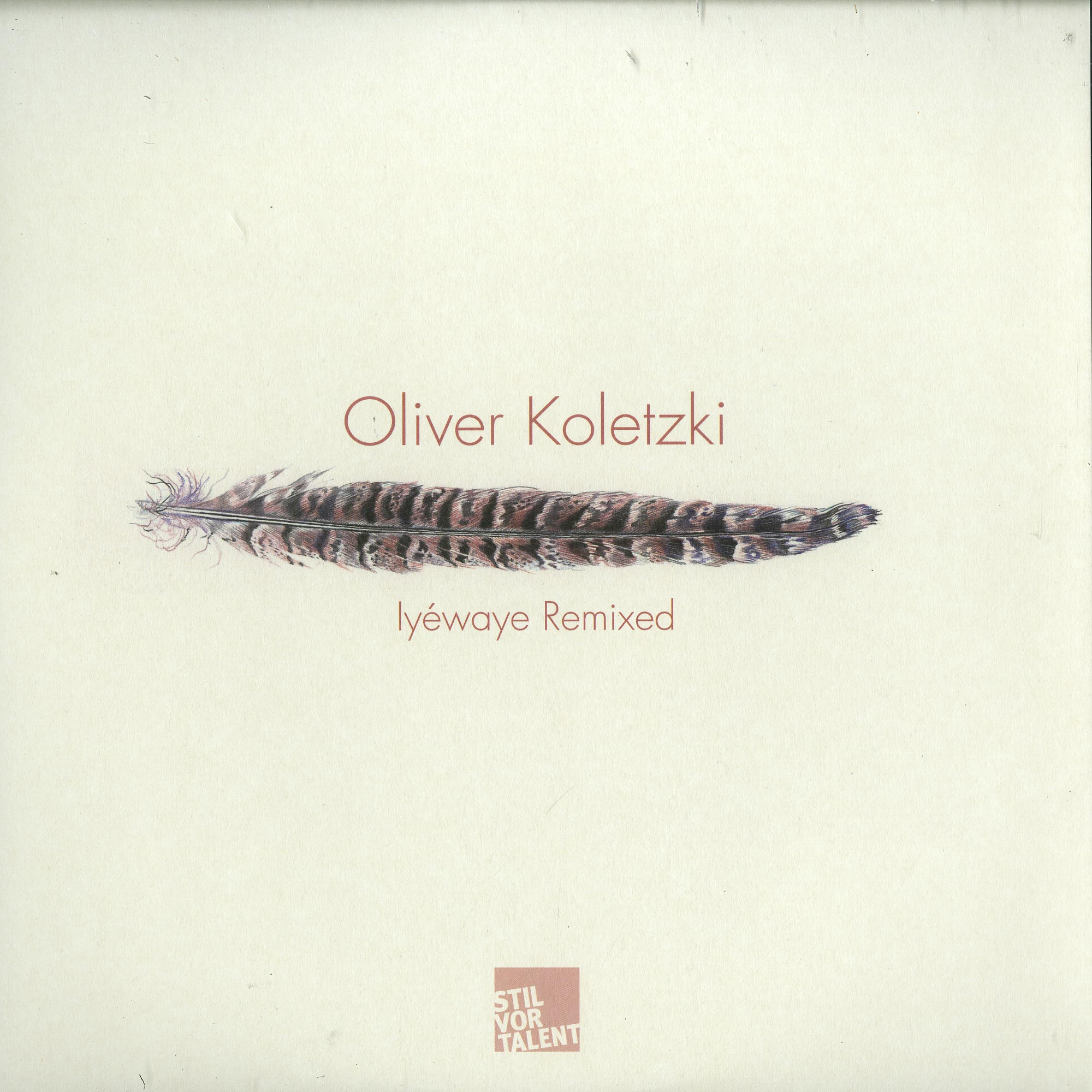 Oliver Koletzki - IYEWAYE REMIXED