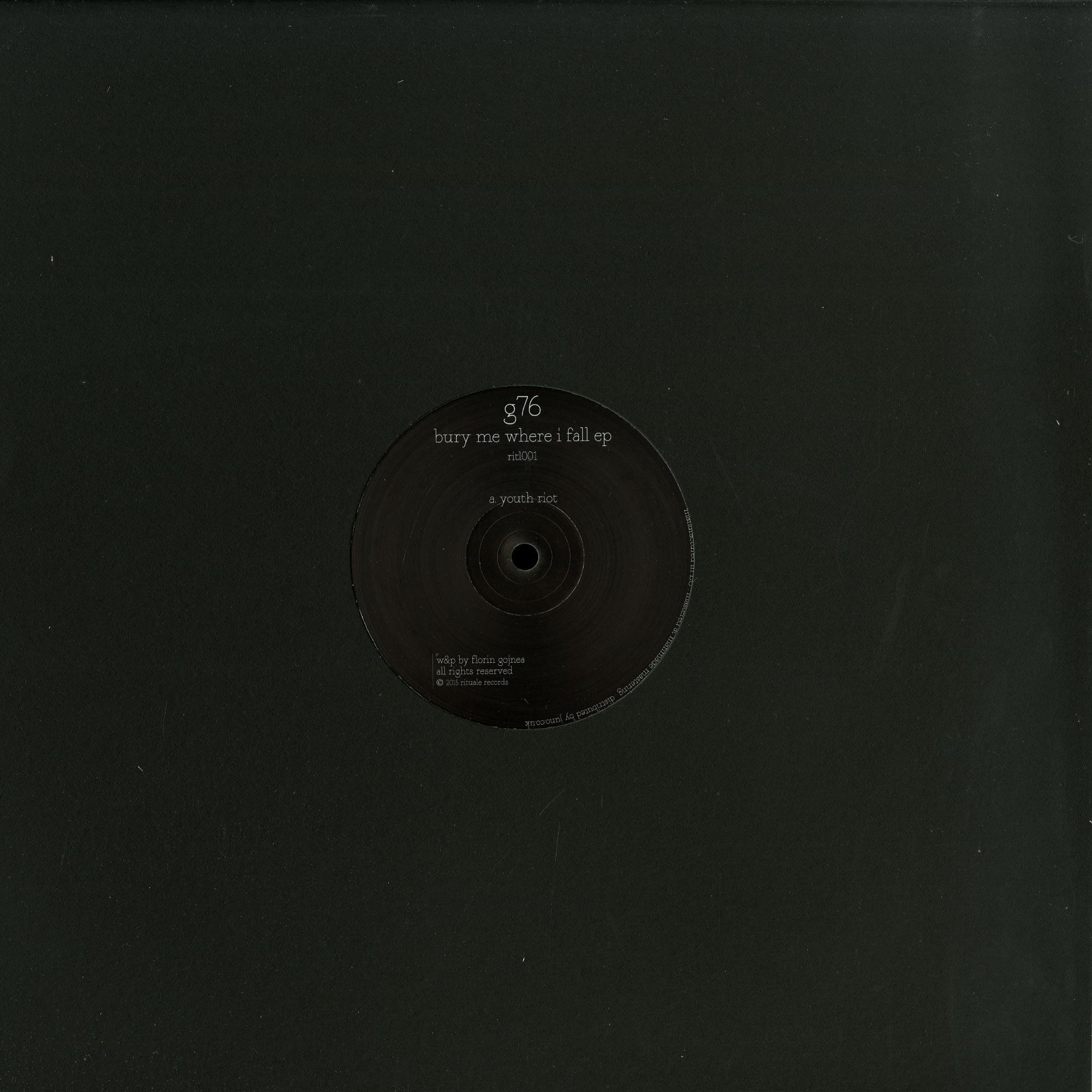G76 - BURY ME WHERE I FALL EP