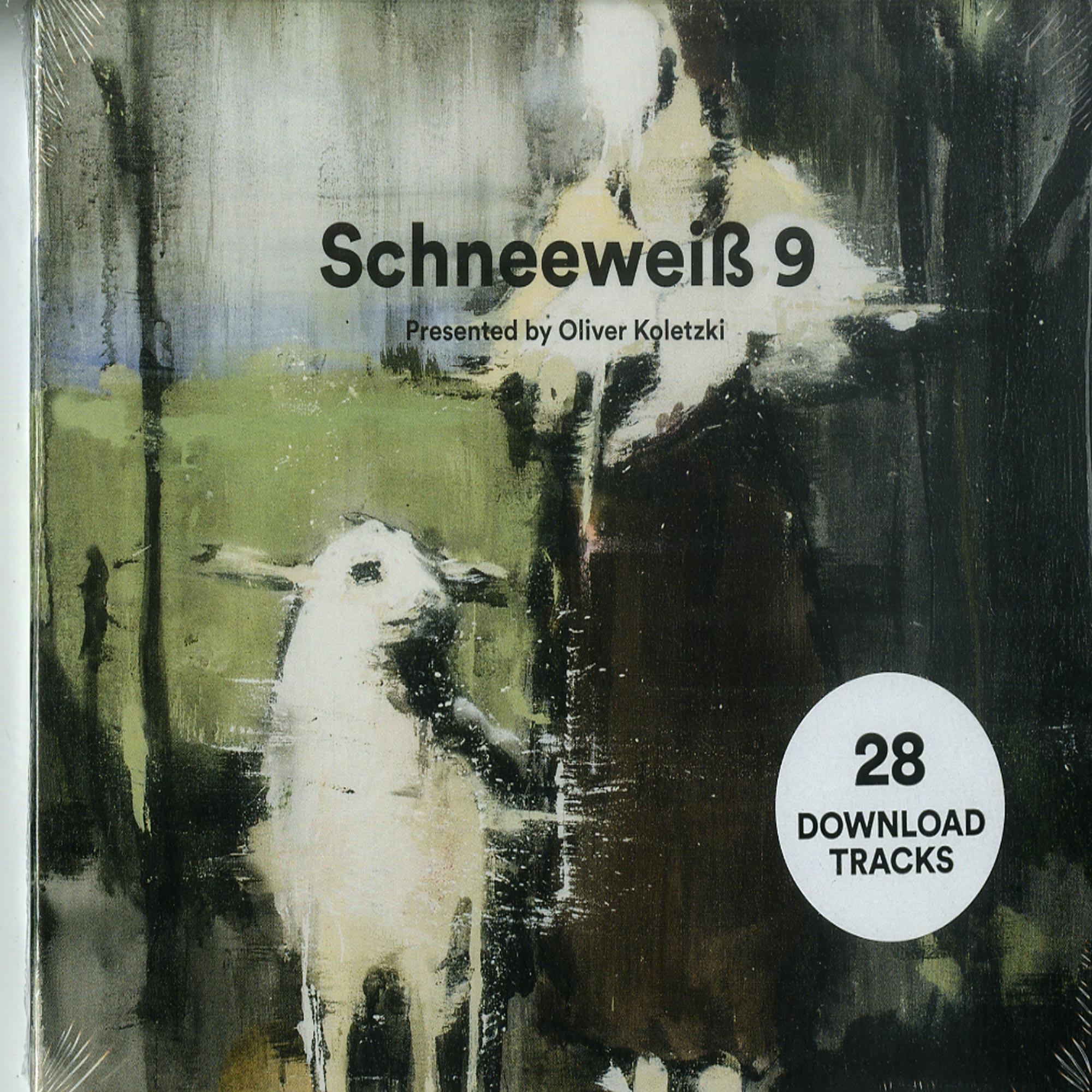 Various Artists - SCHNEEWEIß 9 PRESENTED BY OLIVER KOLETZKI