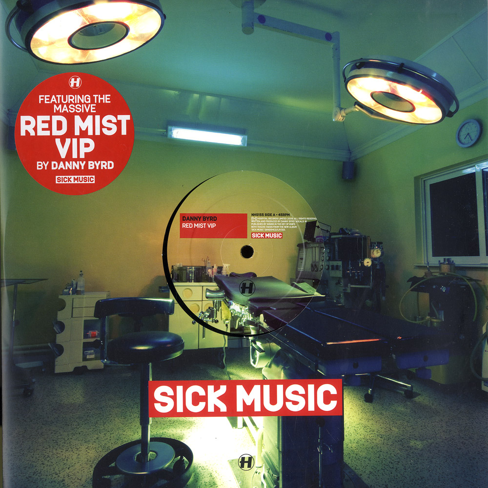 Danny Byrd / Friction & K-tee - RED MIST VIP / FIRED UP