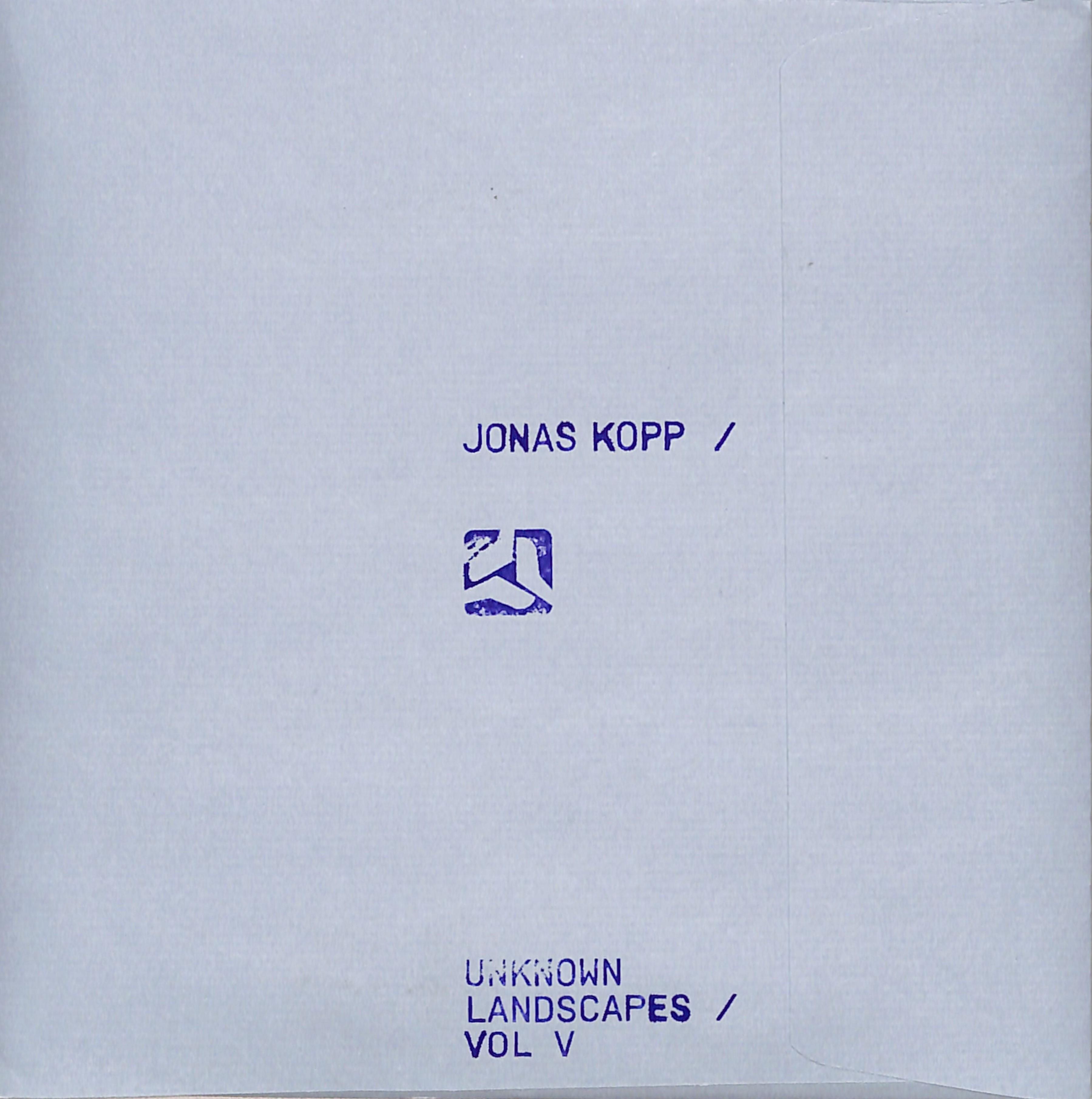 Jonas Kopp - UNKNOWN LANDSCAPES VOL. 5