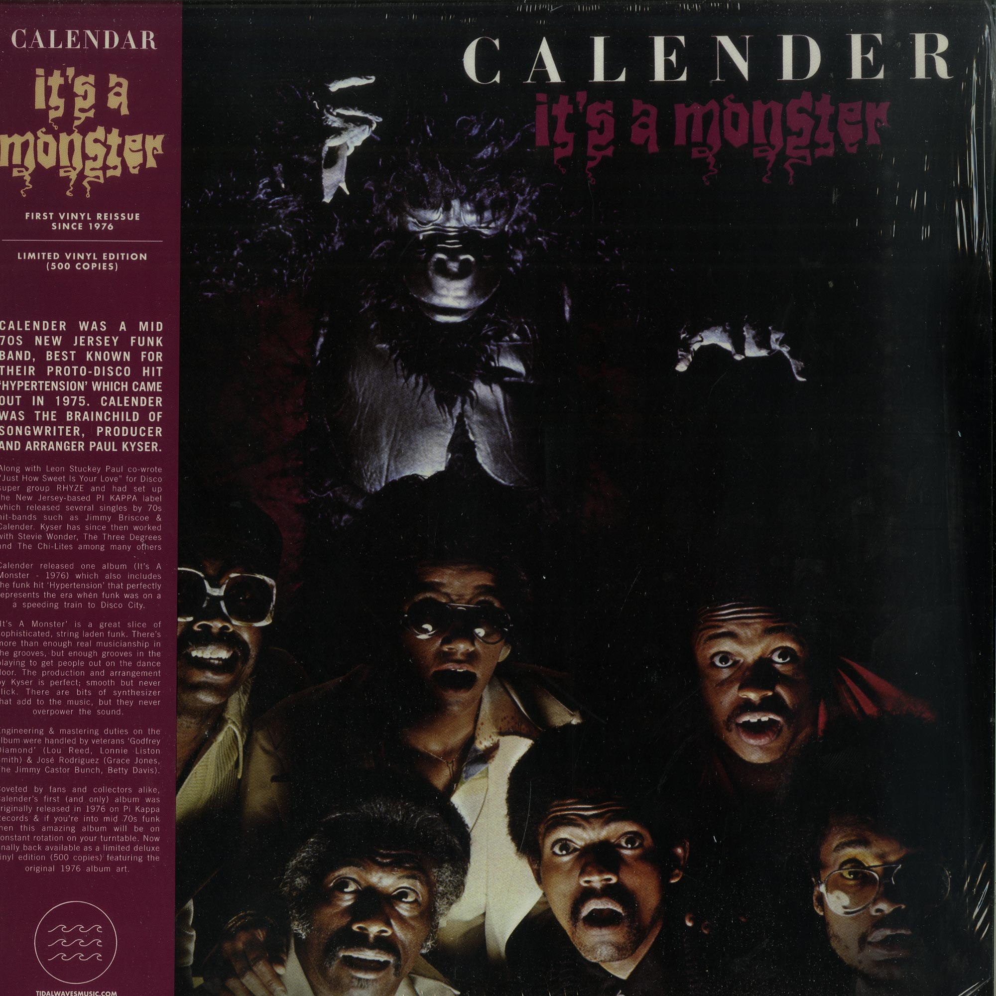 Calender - ITS A MONSTER