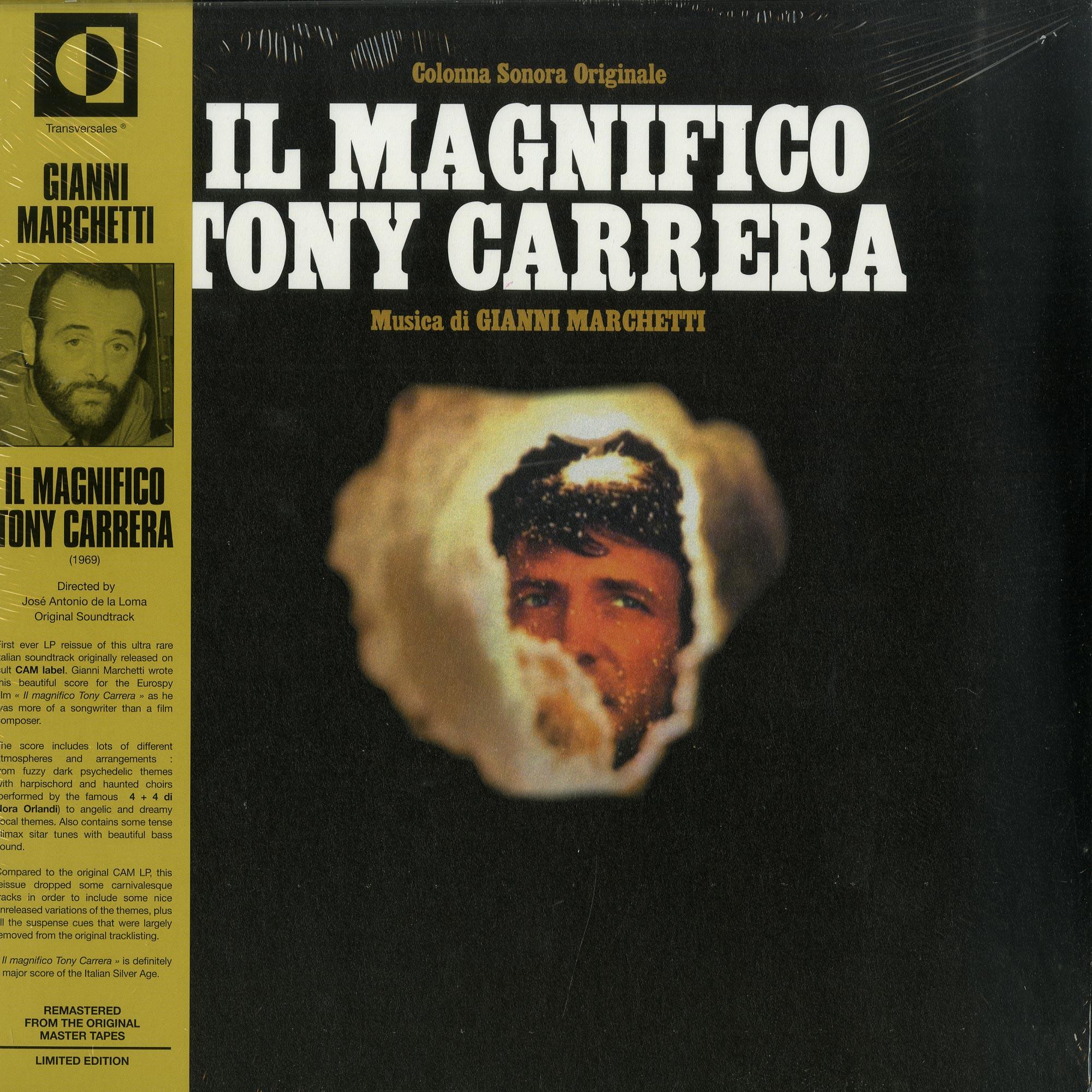 Gianni Marchetti - IL MAGNIFICO TONY CARRERA LP