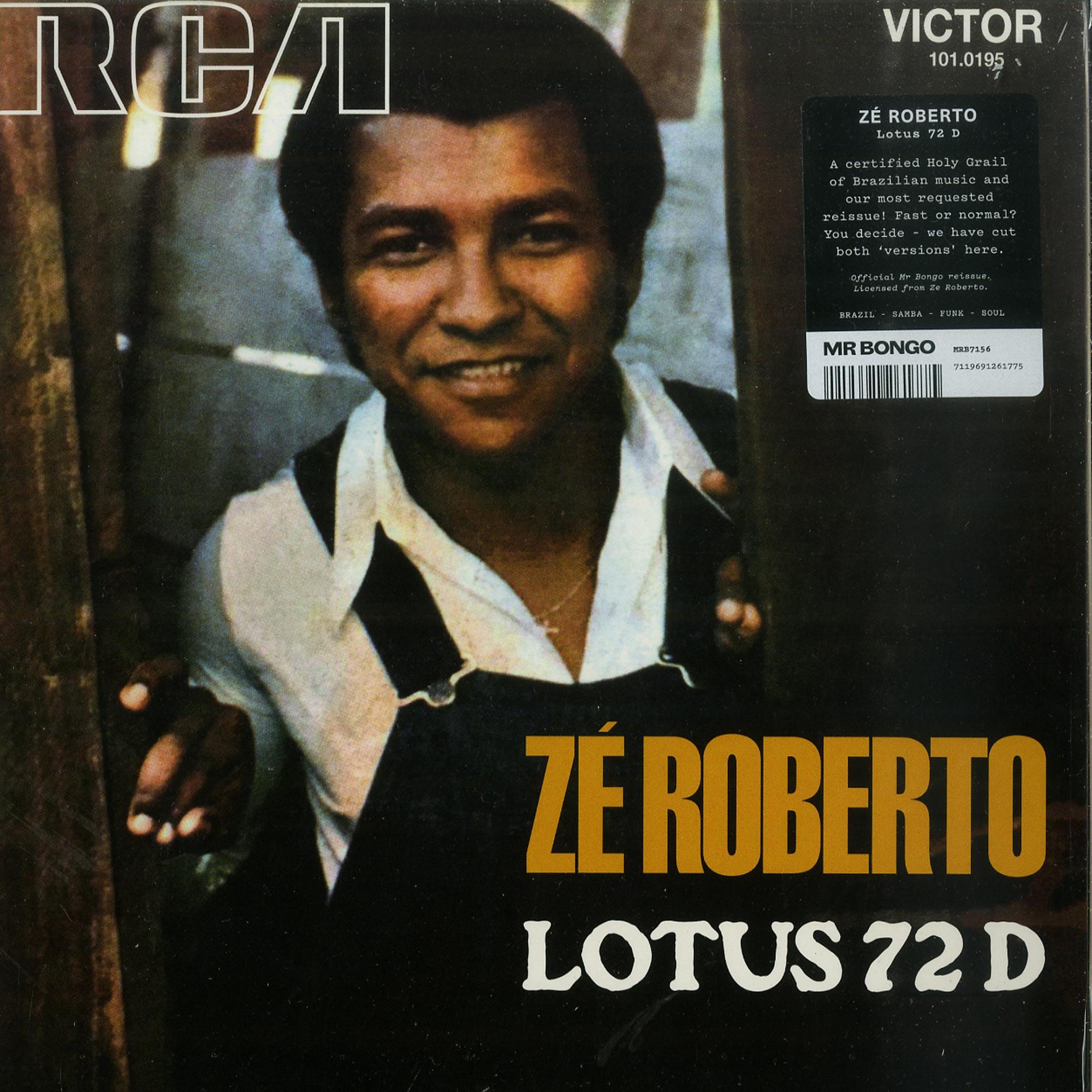 Ze Roberto - LOTUS 72 D