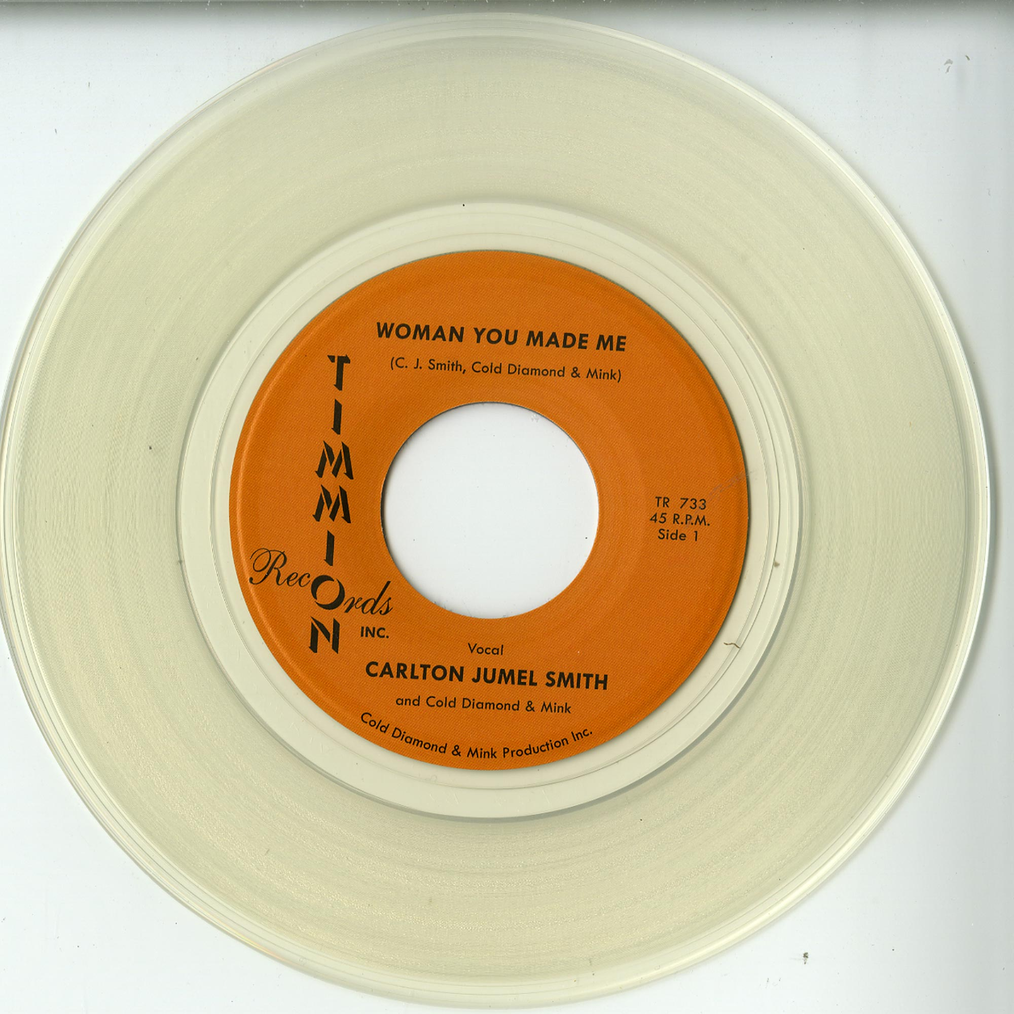 Carlton Jumel Smith with Cold Diamond & Mink - WOMAN YOU MADE ME