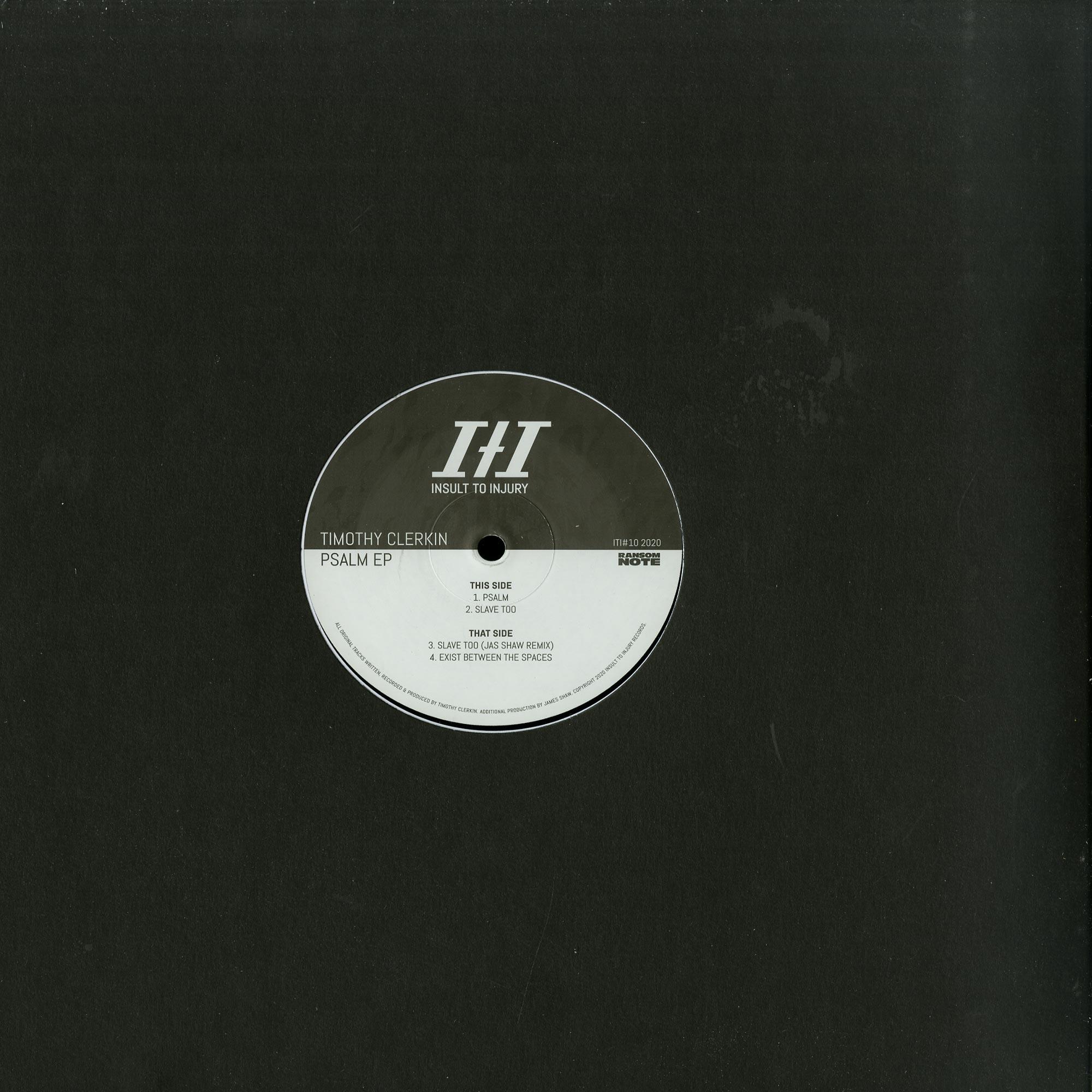 Timothy Clerkin - PSALM EP