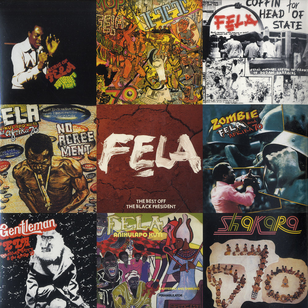 Fela - THE BEST OFF THE BLACK PRESIDENT