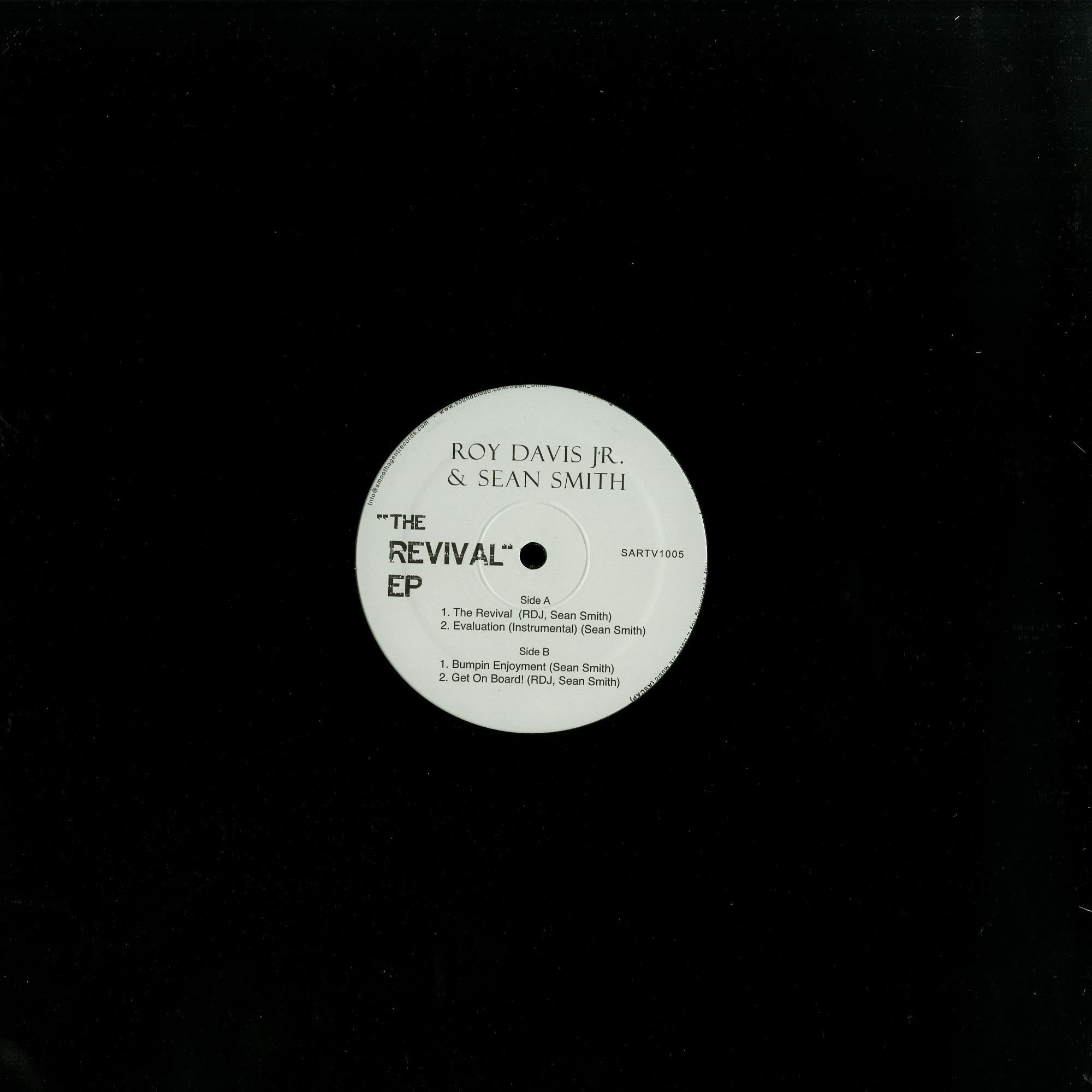 Roy Davis Jr. & Sean Smith - REVIVAL EP