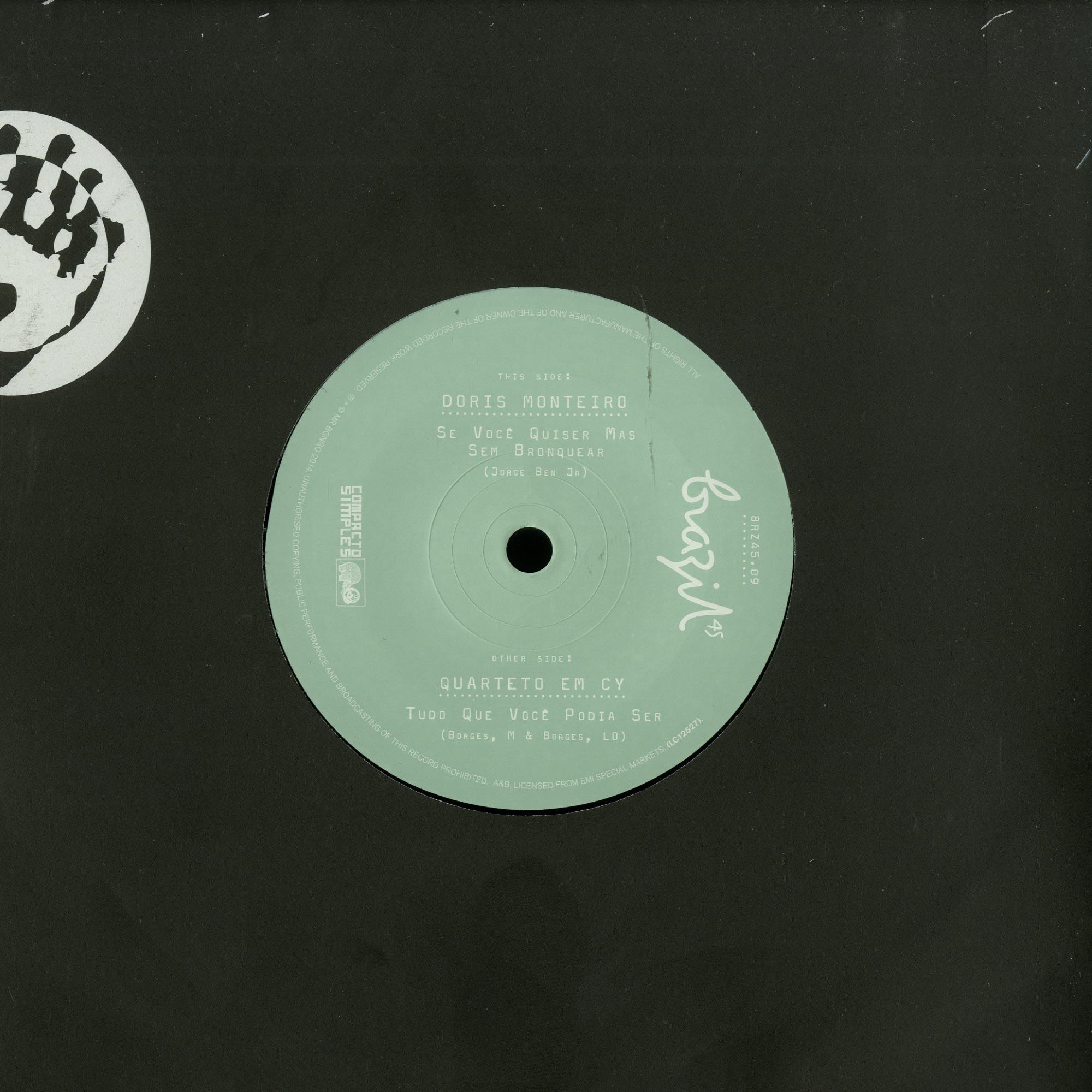 Doris Monteiro / Quarteto Em Cy - EP