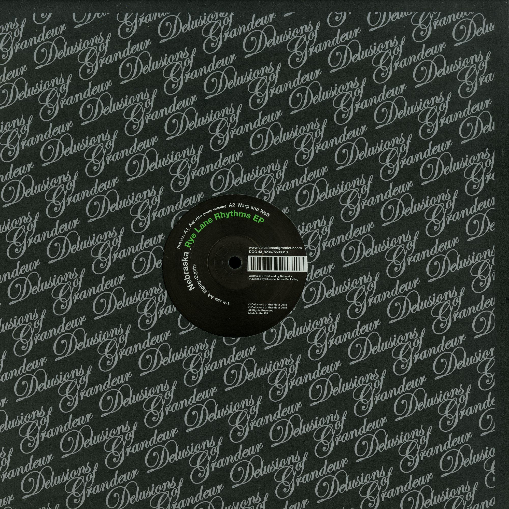 Nebraska - RYE LANCE RHYTHMS EP