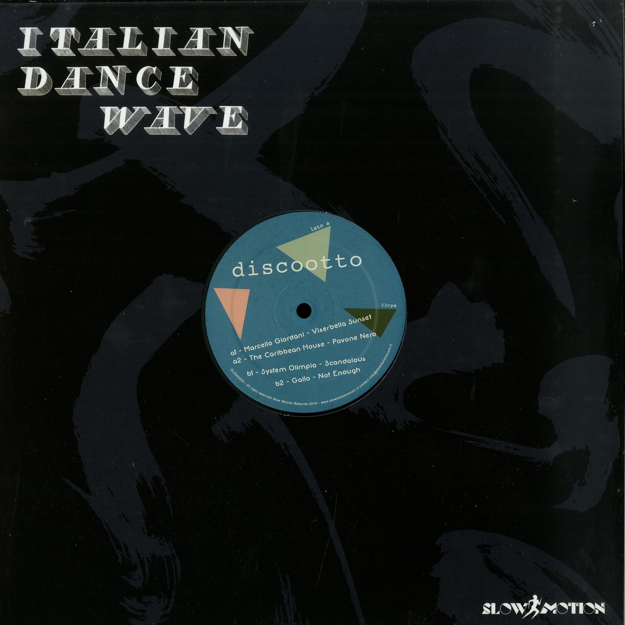 Various Artists - ITALIAN DANCE WAVE OTTO