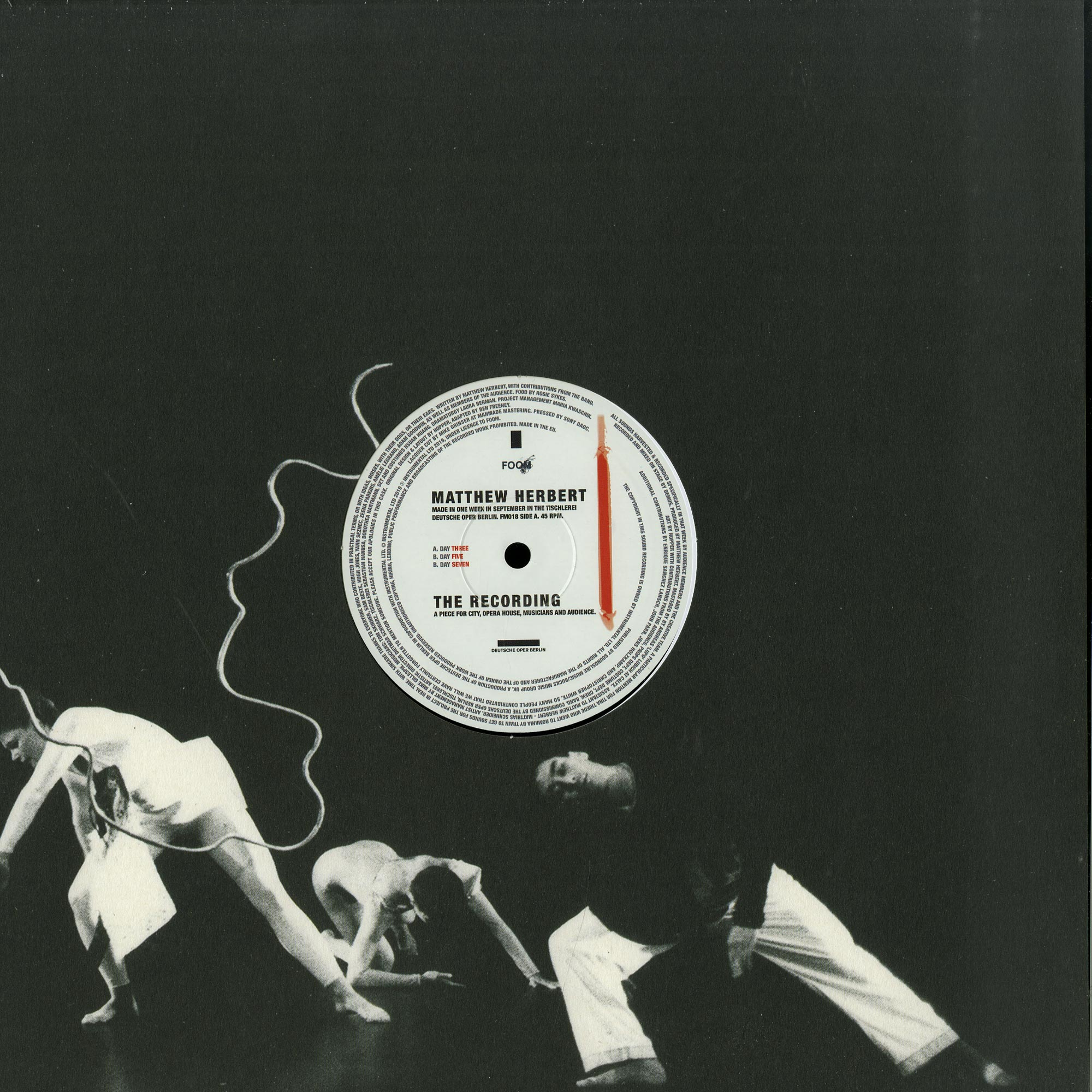 Matthew Herbert - THE RECORDING