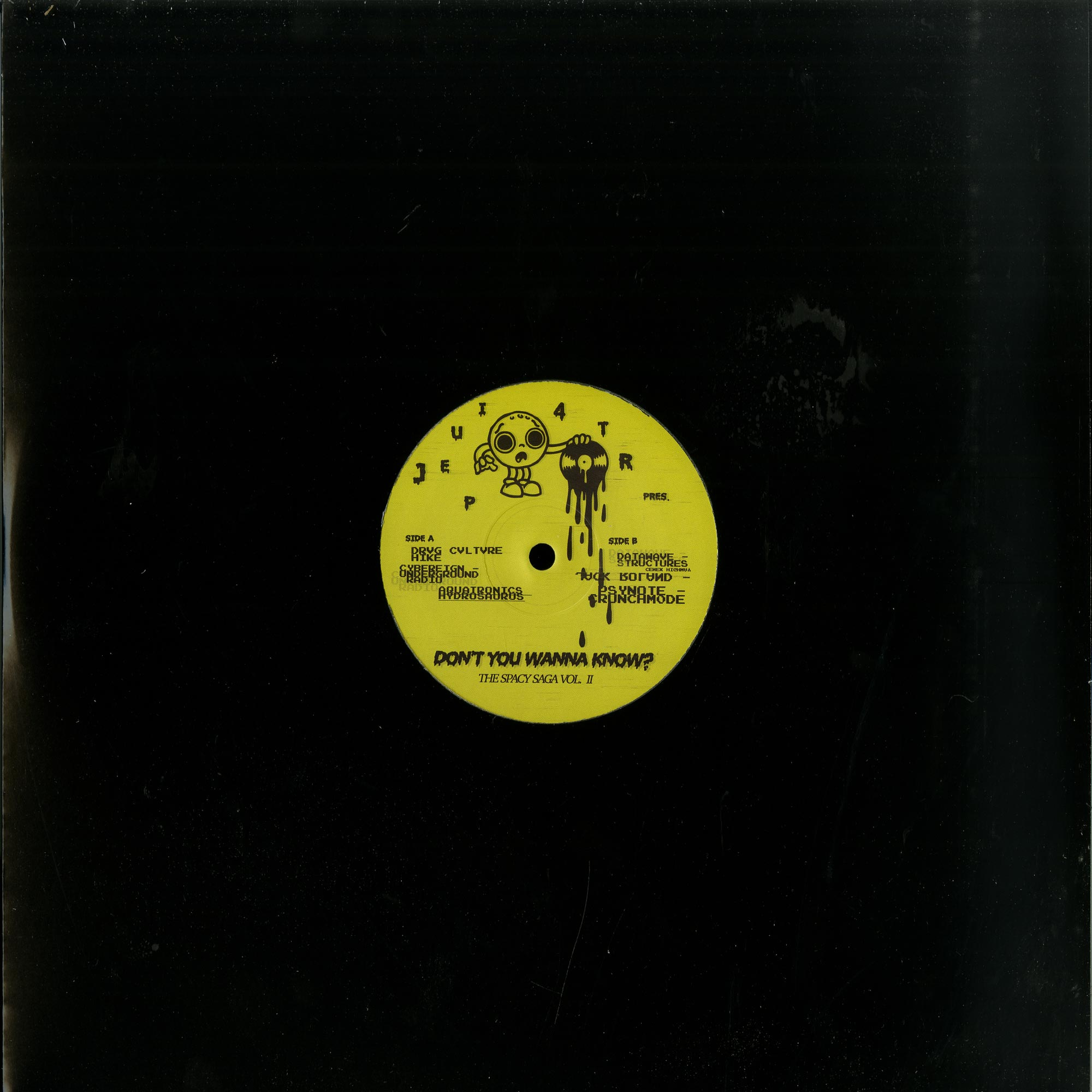 Various Artists - DONT YOU WANNA KNOW? - THE SPACY SAGA VOL. II