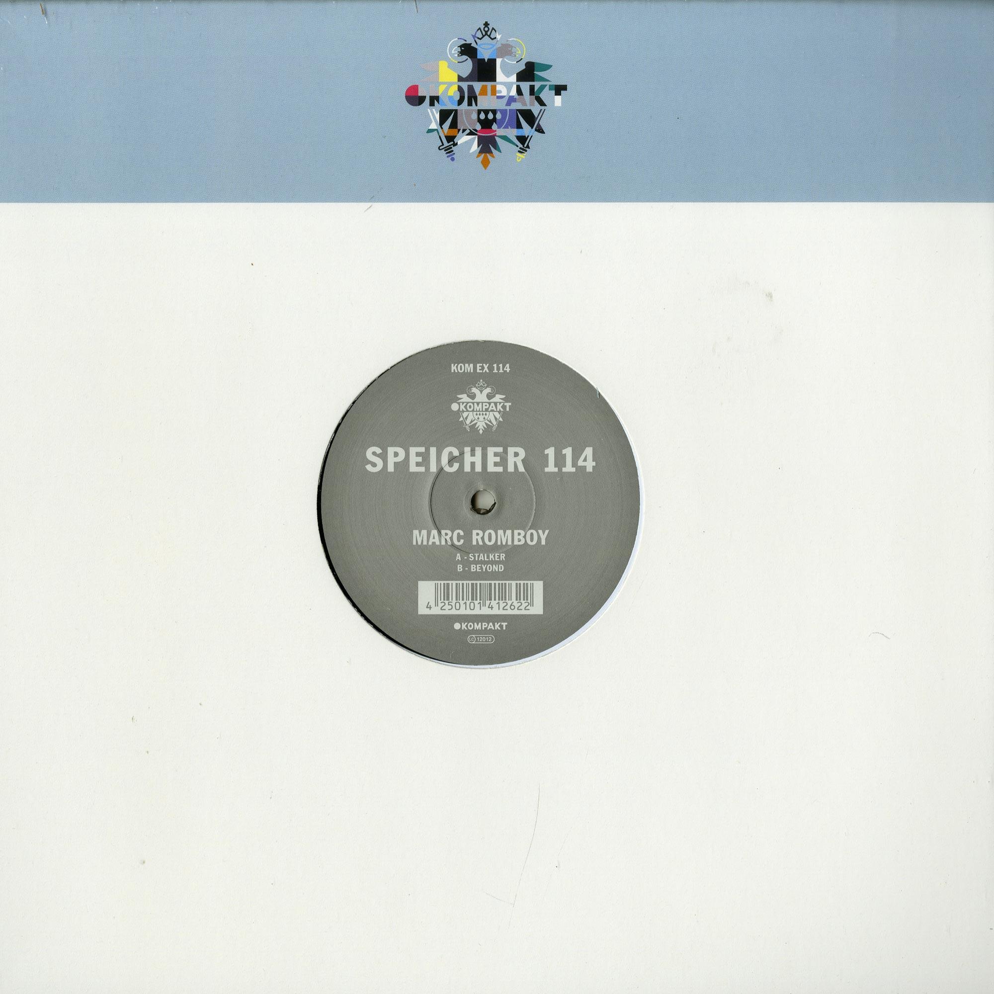 Marc Romboy - SPEICHER 114