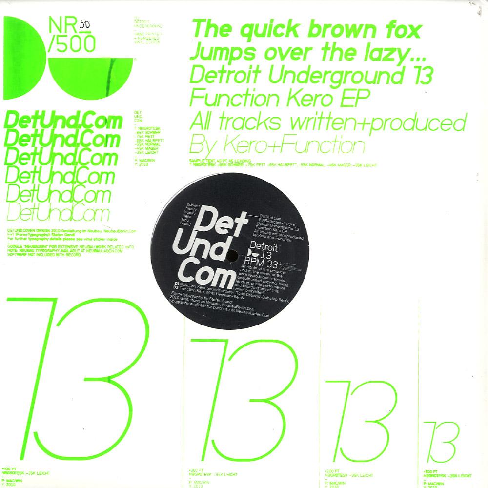 KERO & FUNCTION - Function Kero EP image