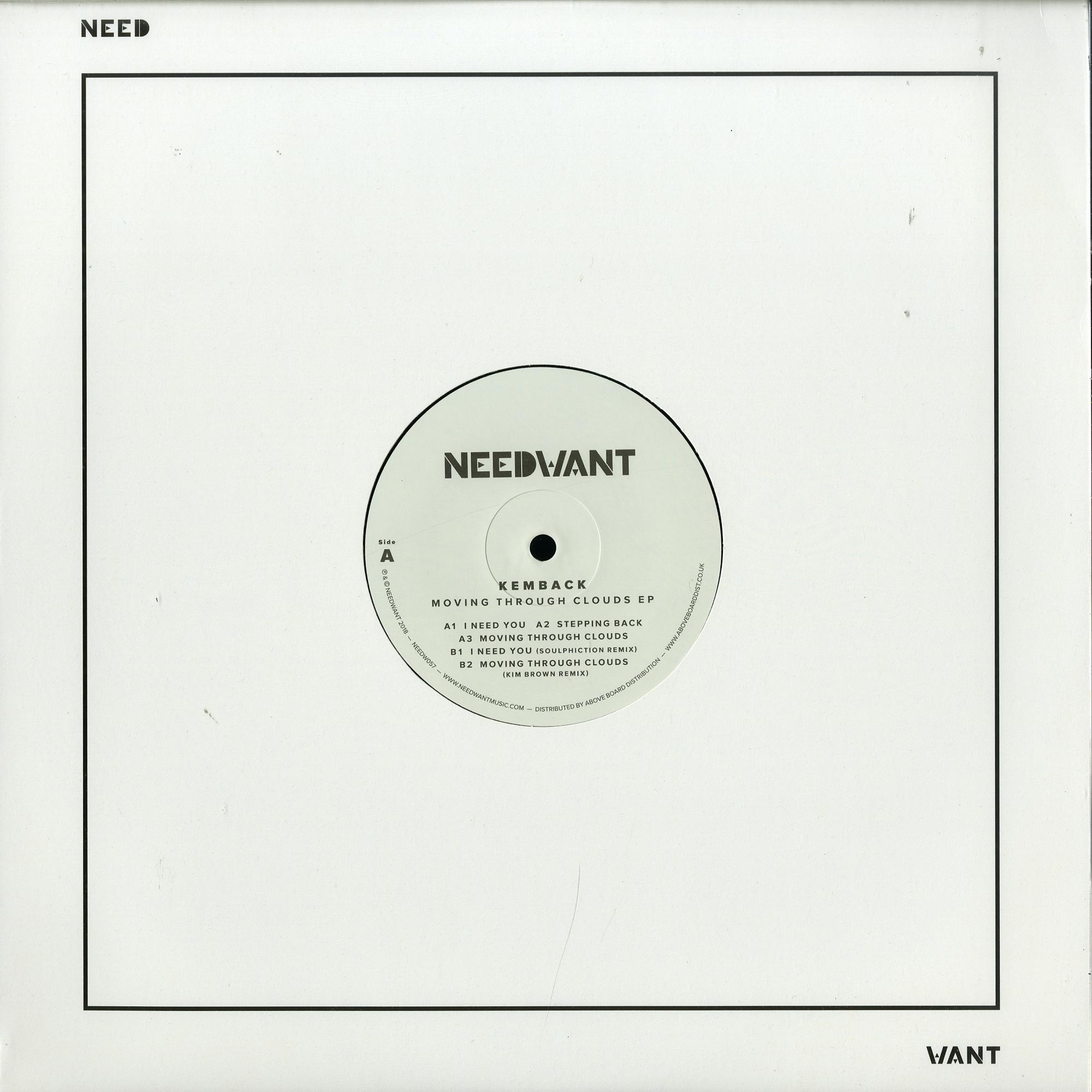 Kemback - MOVING THROUGH CLOUDS EP