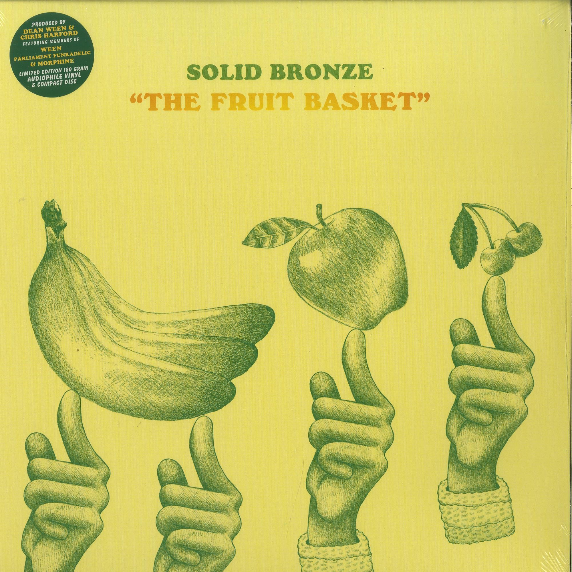 Solid Bronze - FRUIT BASKET