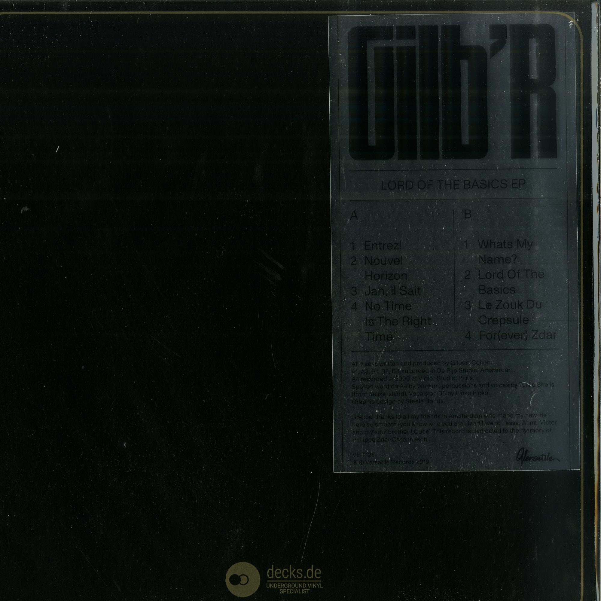 Gilb R - LORD OF THE BASICS EP
